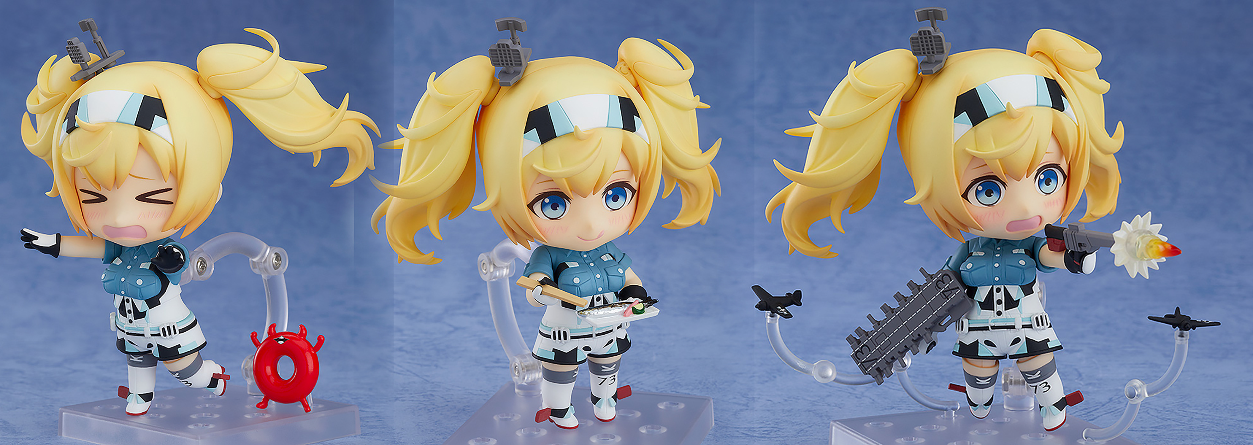 KANTAI KANCOLLE COLLECTION GAMBIER BAY NENDOROID AF