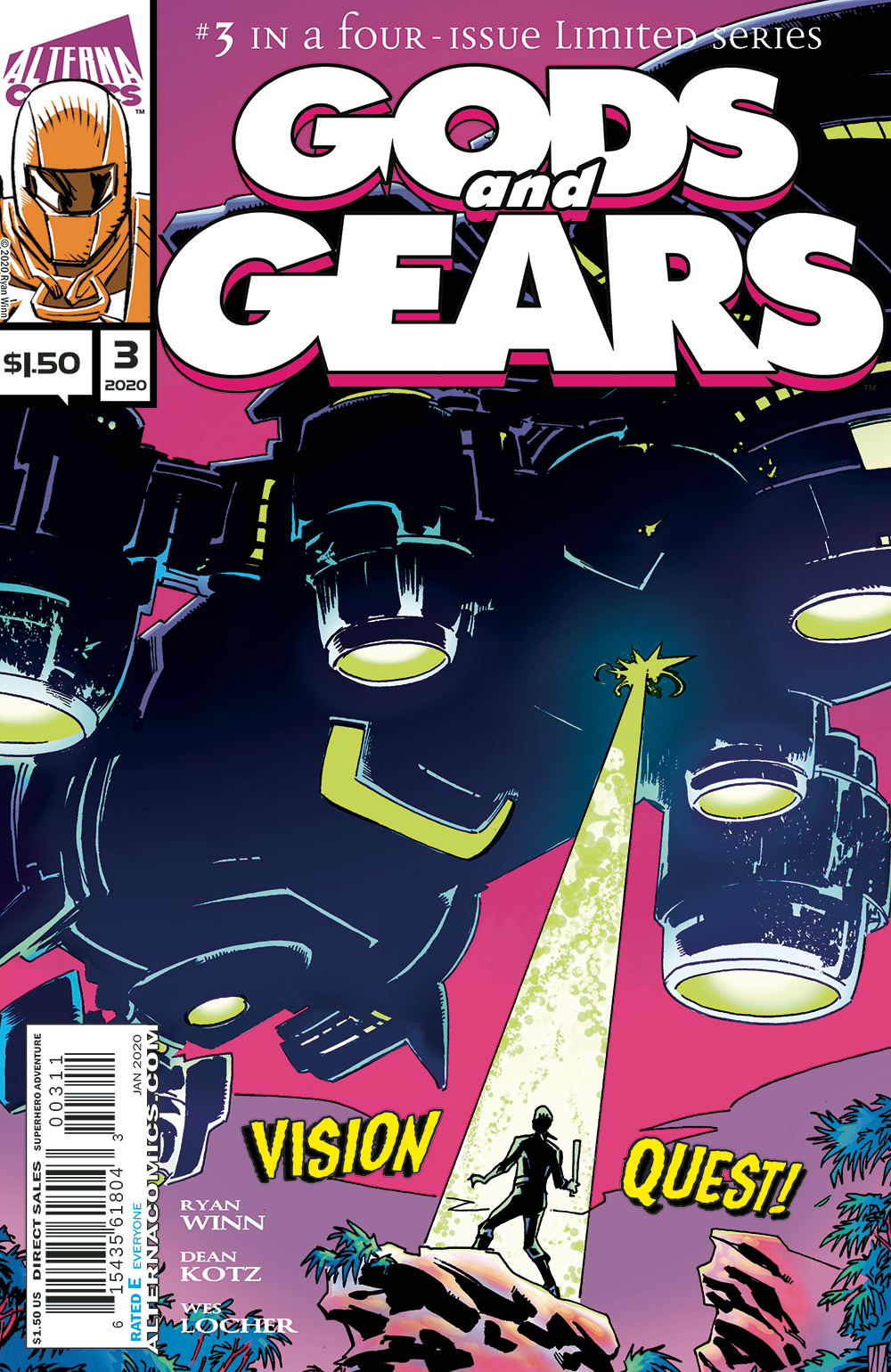 GODS AND GEARS #3 (OF 4)