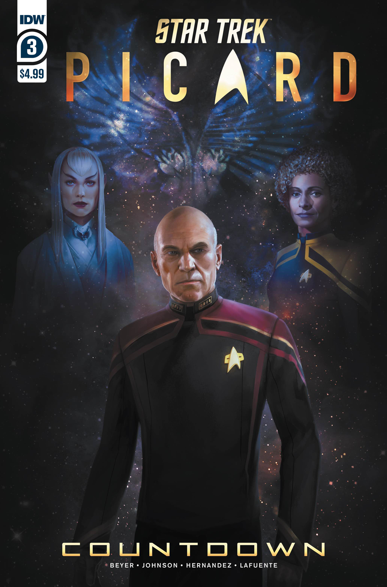 STAR TREK PICARD #3 (OF 3) CVR A PITRE-DUROCHER