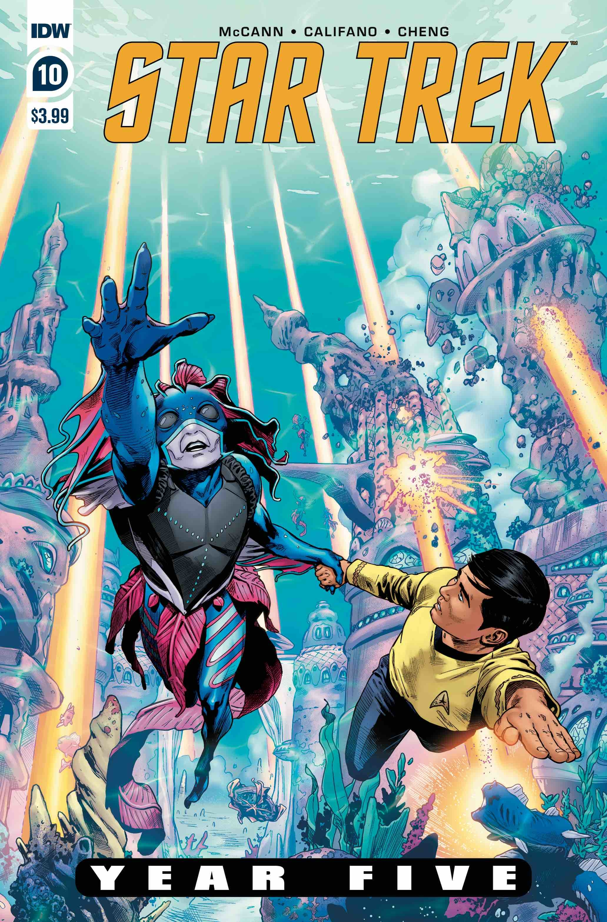 STAR TREK YEAR FIVE #10 CVR A THOMPSON