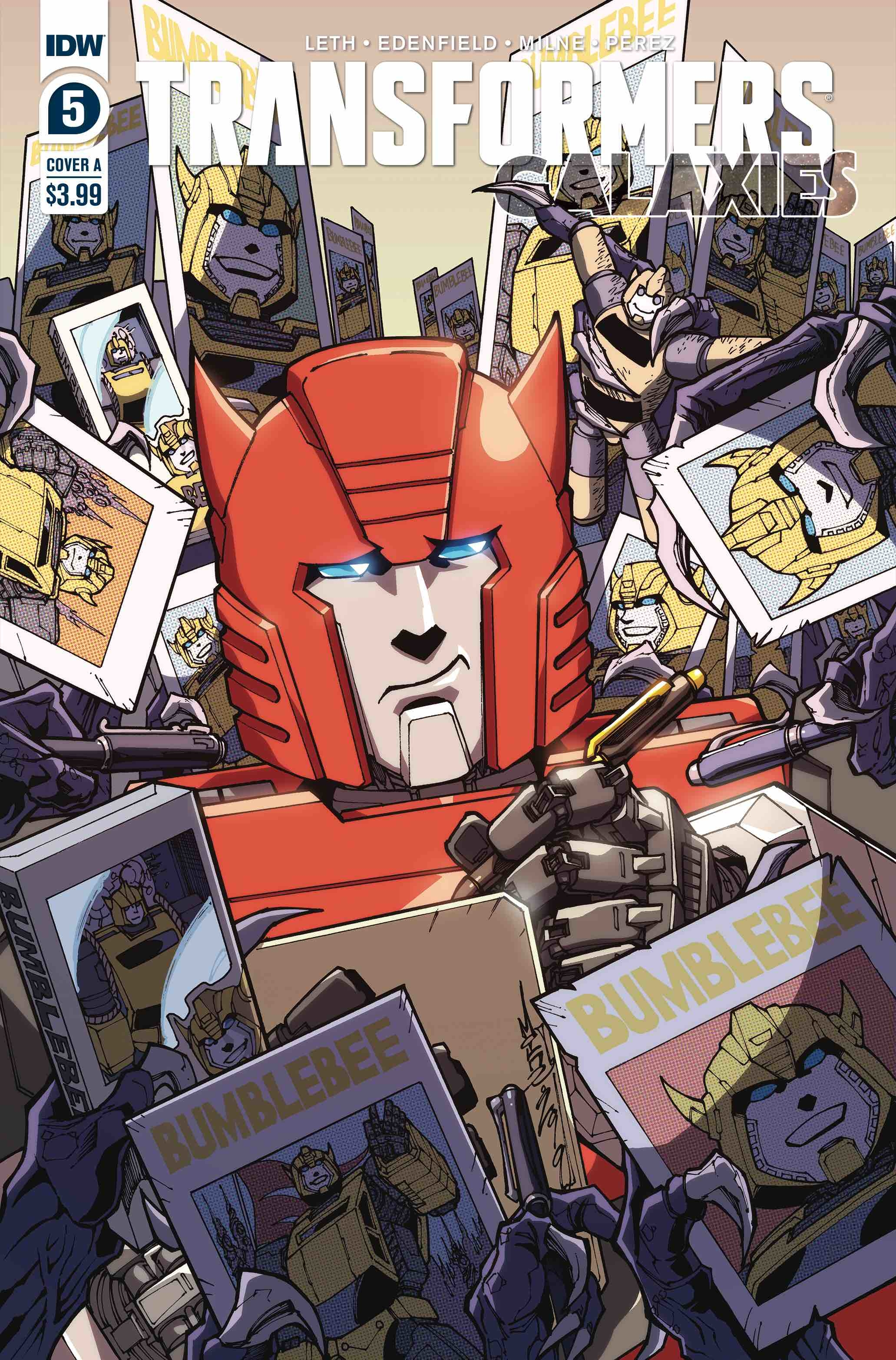 TRANSFORMERS GALAXIES #5 CVR A MILNE