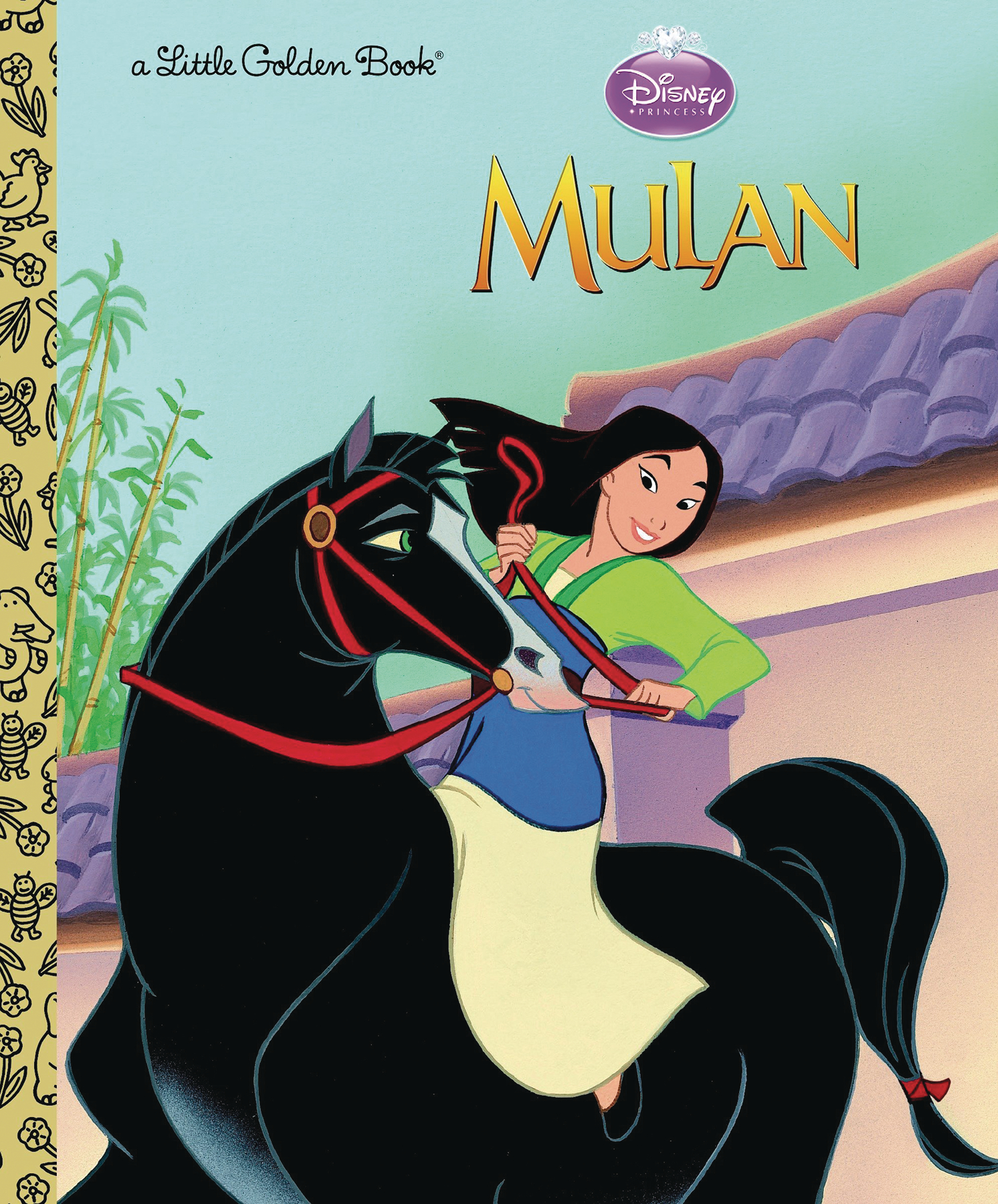 MULAN LITTLE GOLDEN BOOK