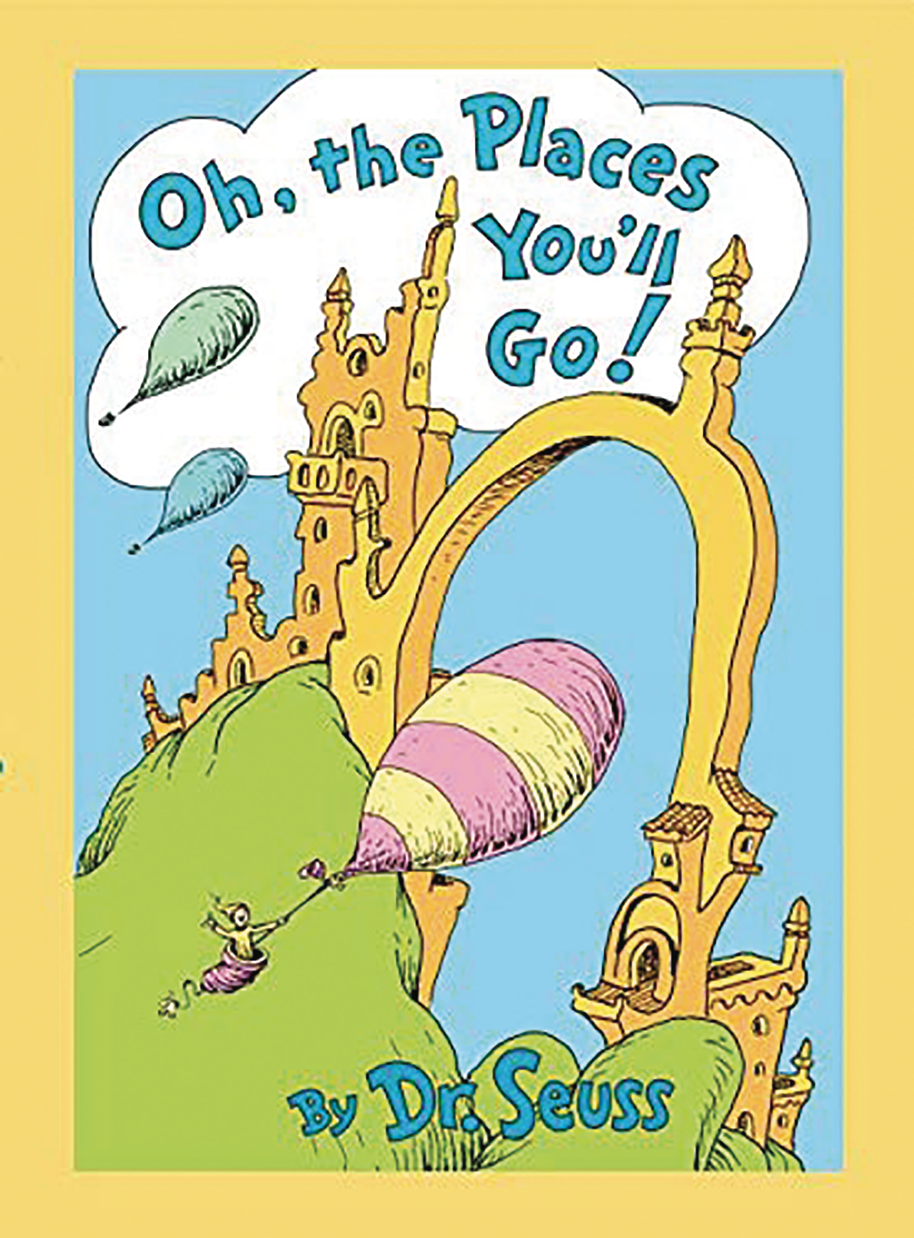 OH THE PLACES YOULL GO LENTICULAR ED HC