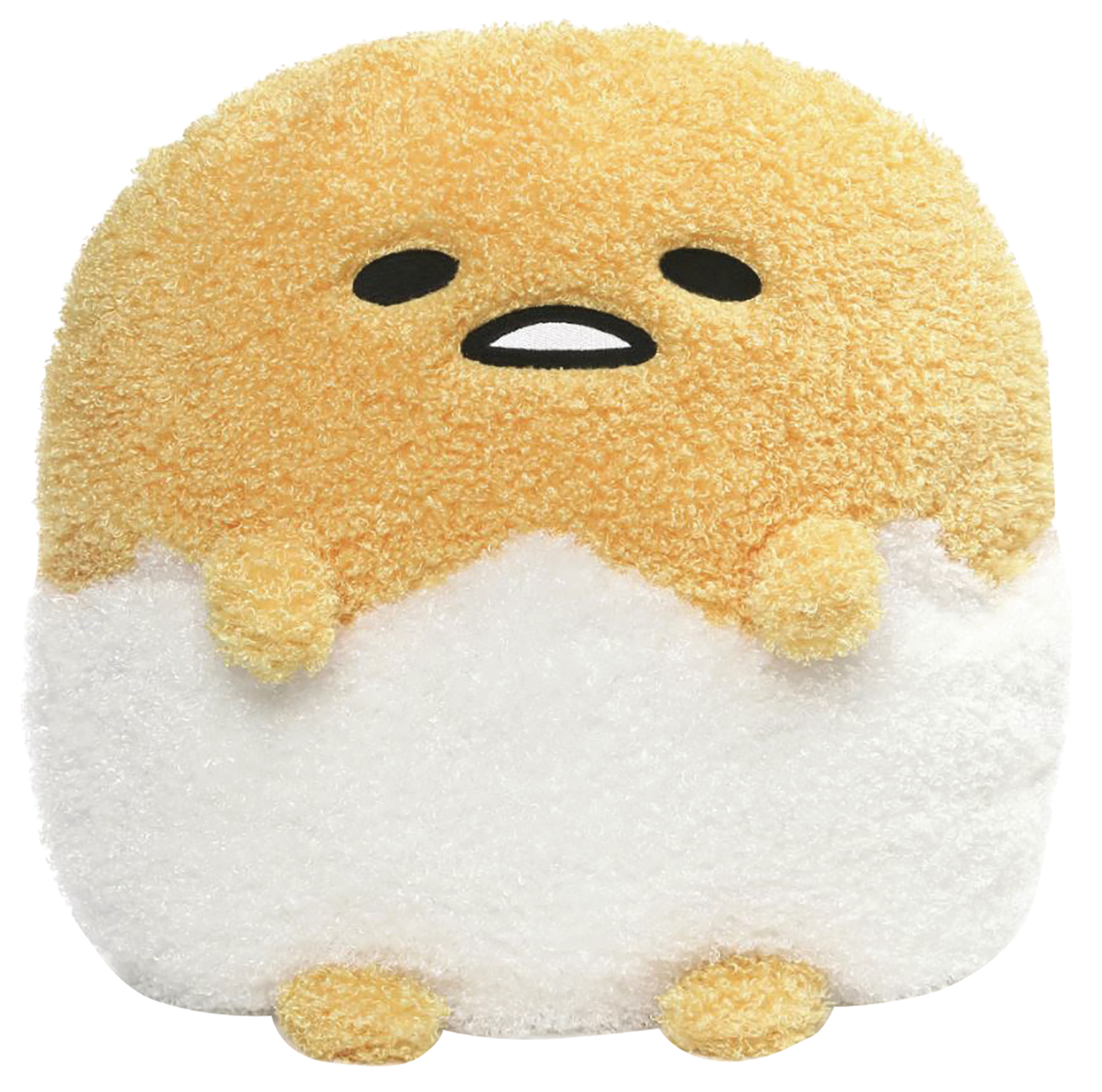 GUDETAMA DELUXE 18IN EGG SHELL PLUSH
