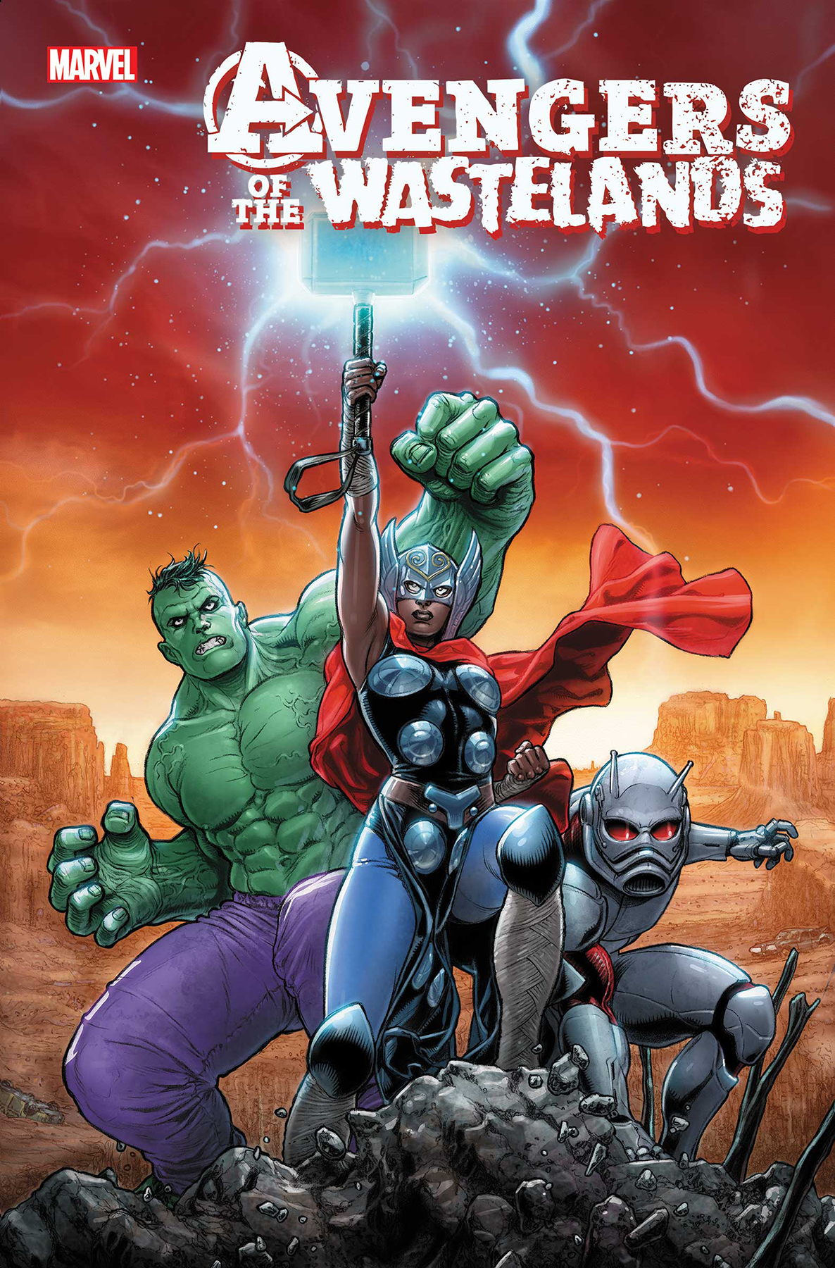 AVENGERS OF THE WASTELANDS #1 (OF 5)