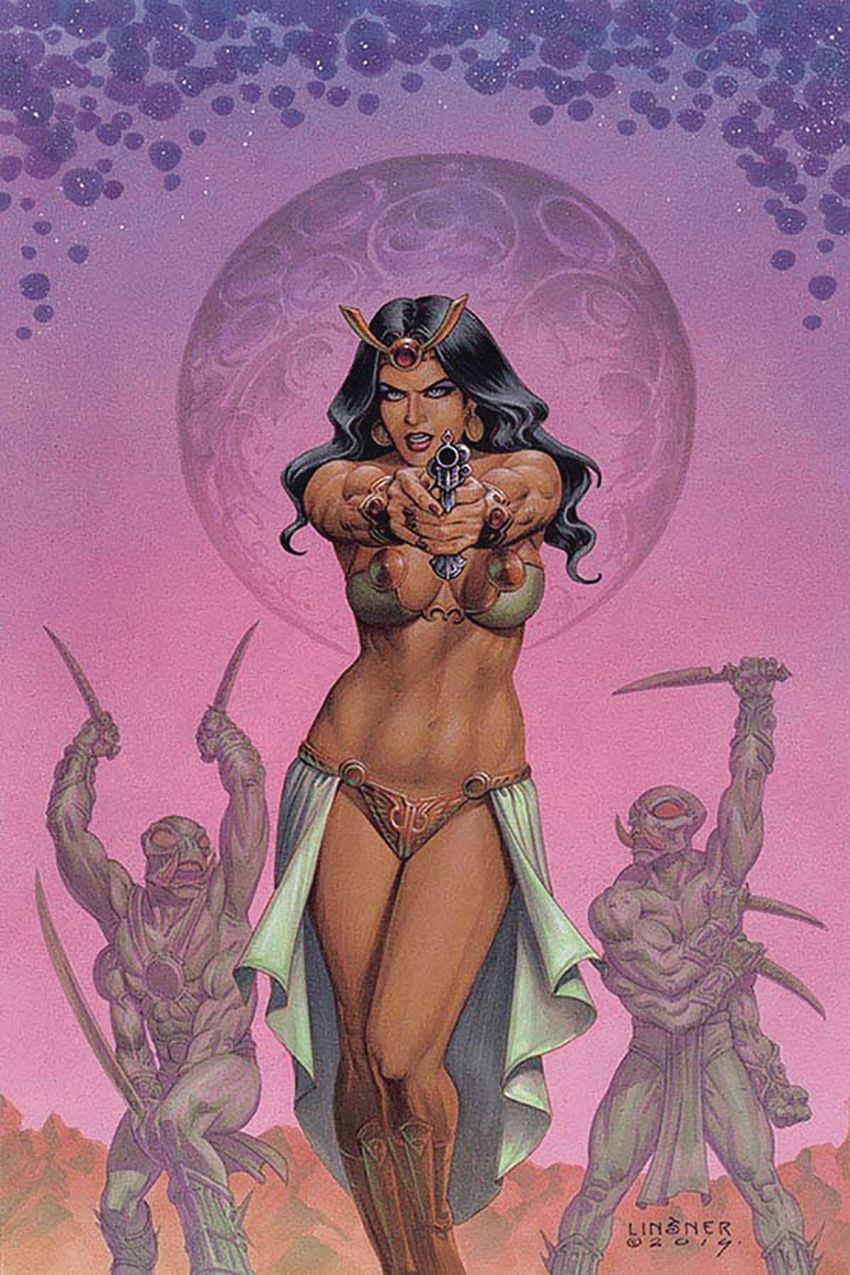 DEJAH THORIS (2019) #2 LINSNER LTD VIRGIN CVR