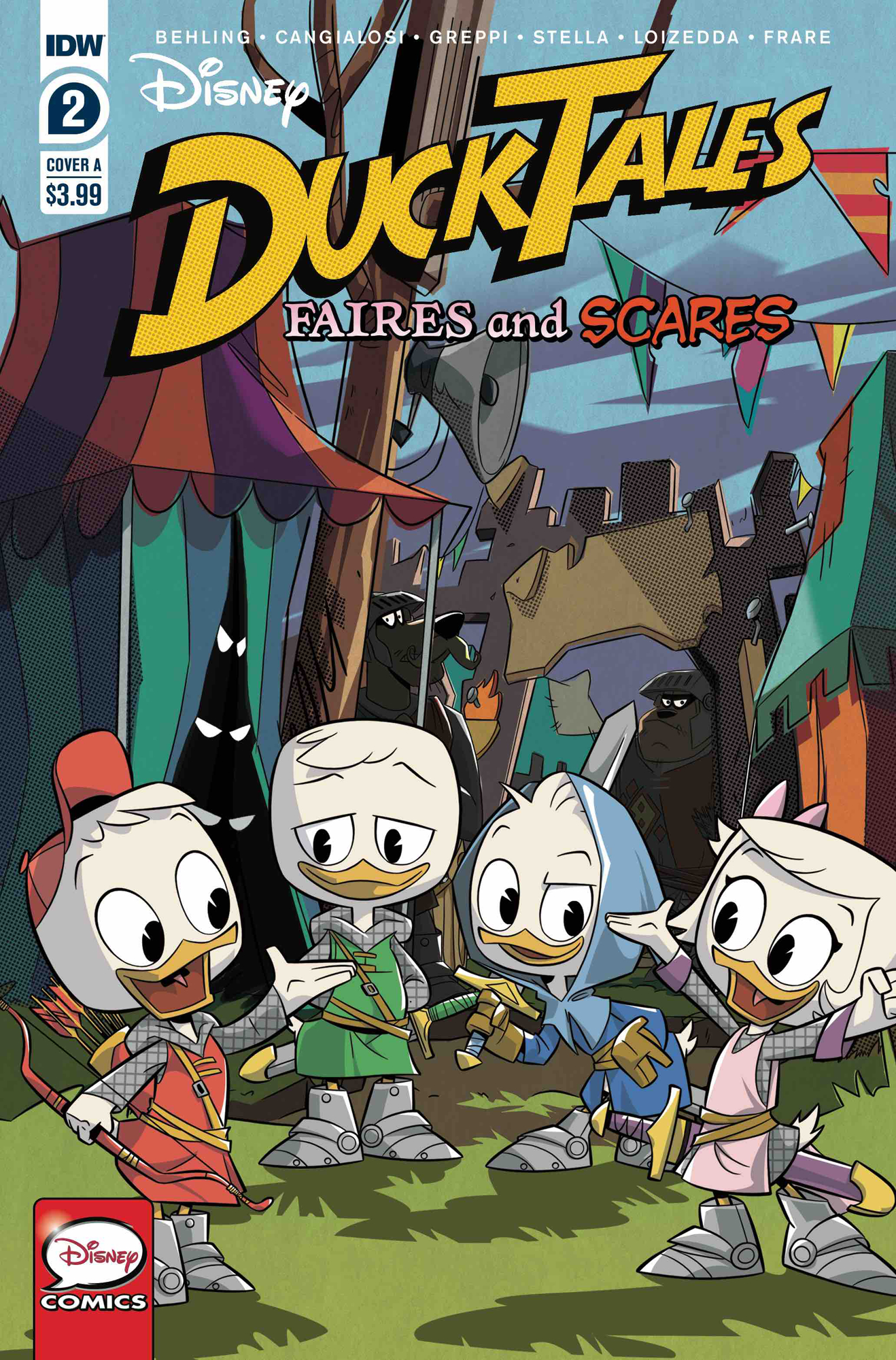 DUCKTALES FAIRES & SCARES #2 (OF 3) CVR A VARIOUS