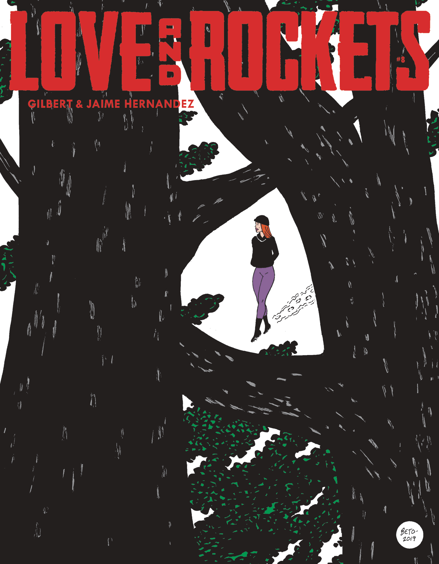 LOVE & ROCKETS MAGAZINE #8 (MR)