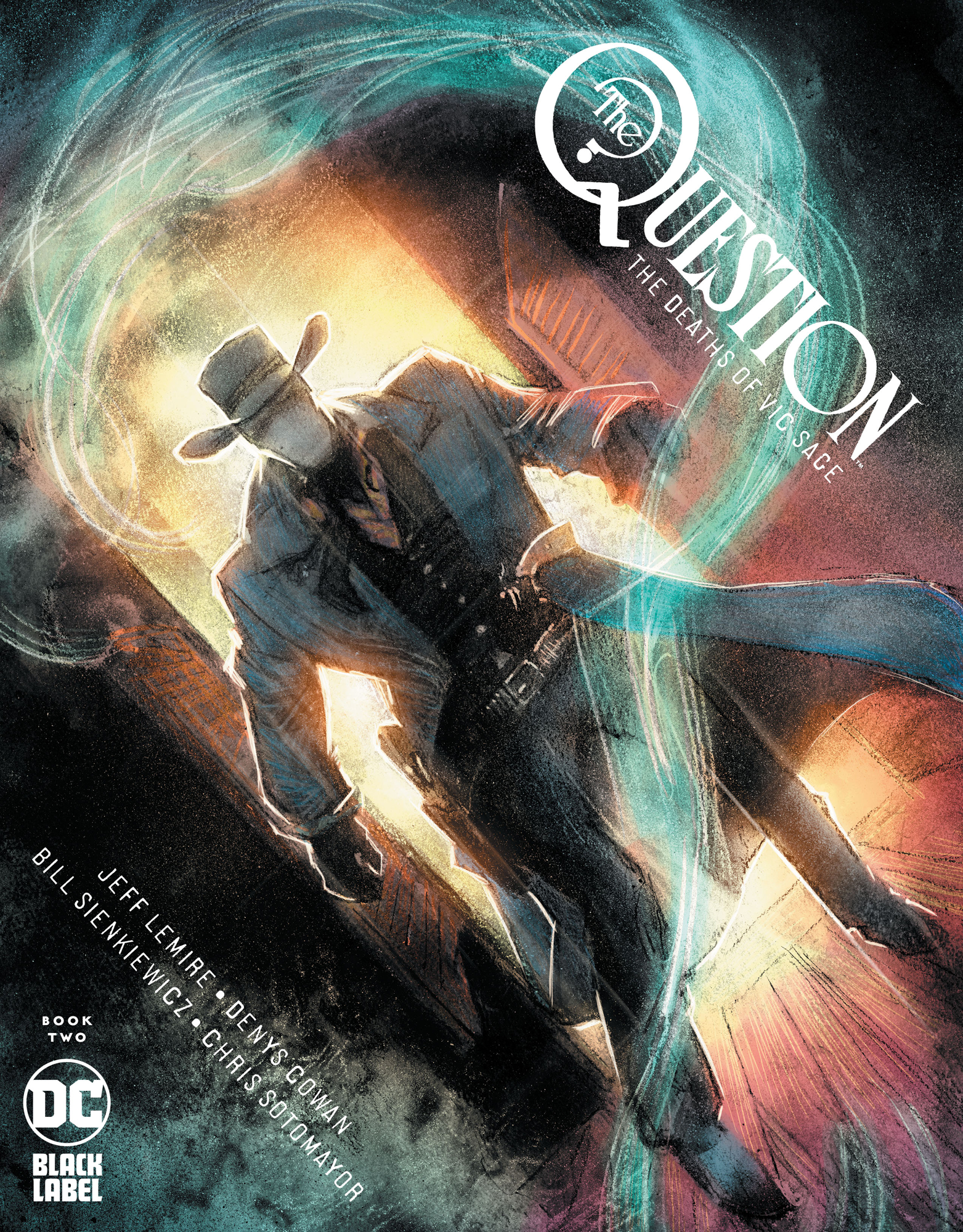 QUESTION THE DEATHS OF VIC SAGE #2 (OF 4)
