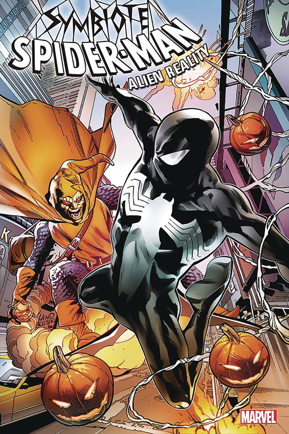 DF SYMBIOTE SPIDERMAN ALIEN REALITY SGN DAVID