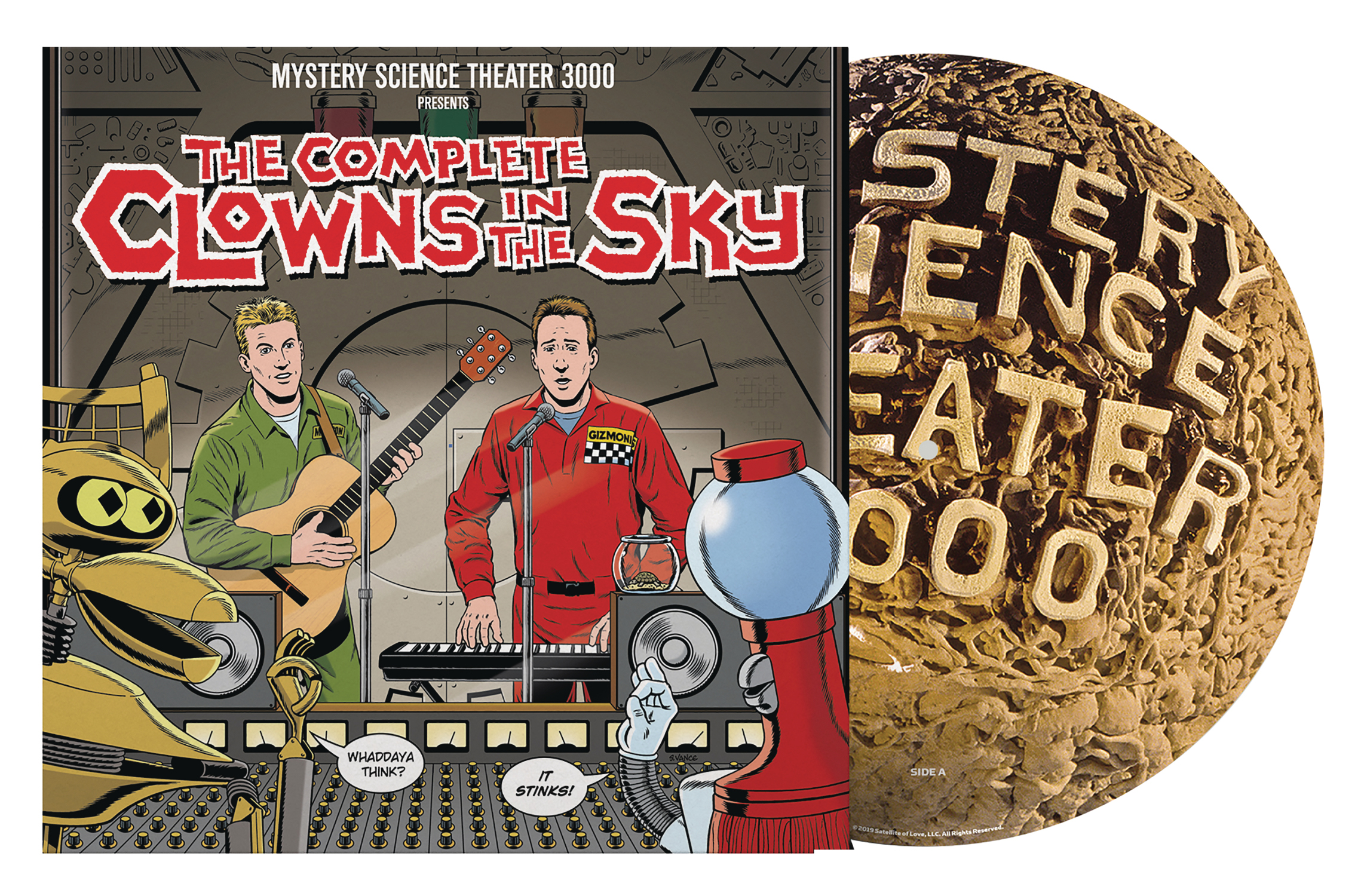 MST3K CLOWNS IN THE SKY SOUNDTRACK PX DOUBLE LP (SEP198031)