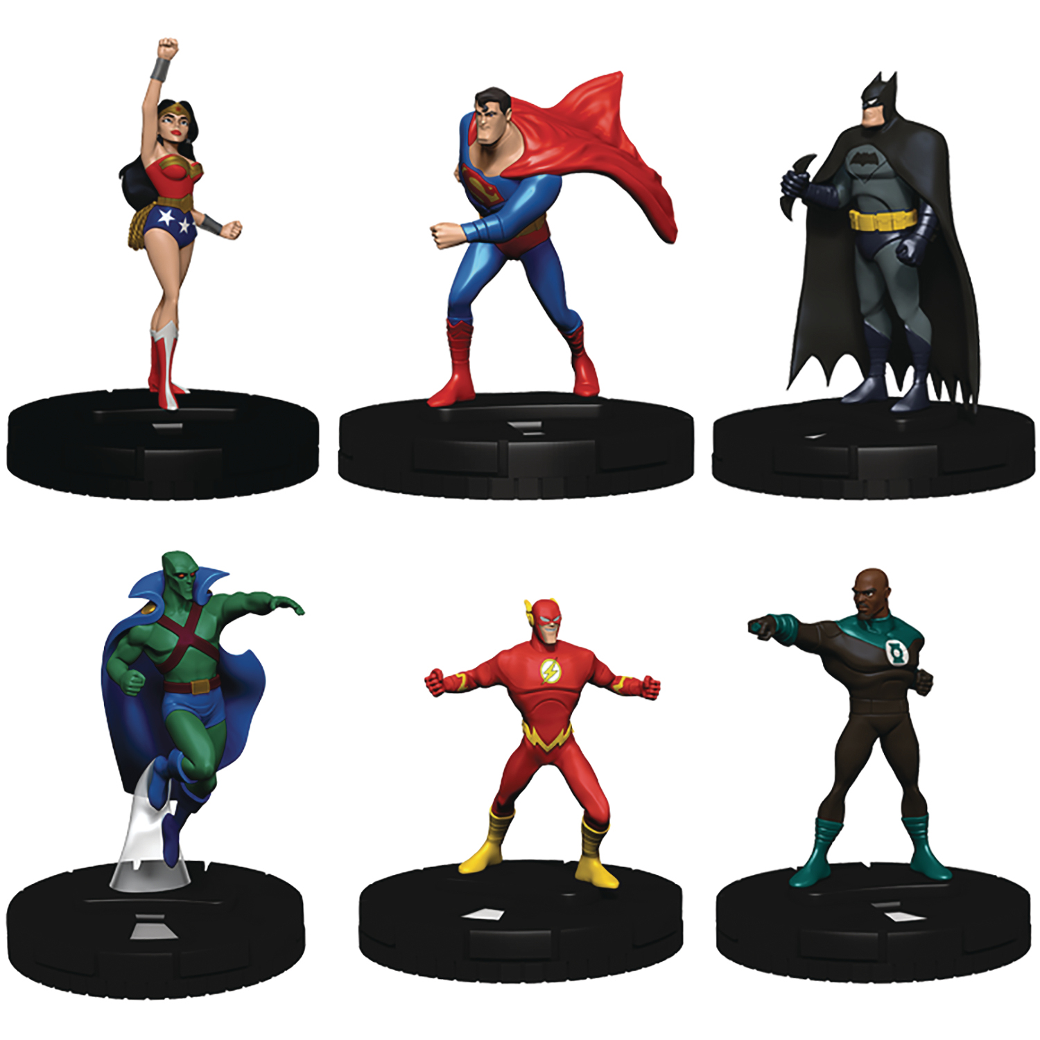 DC COMICS HEROCLIX JUSTICE LEAGUE UNLIMITED STARTER SET (SEP