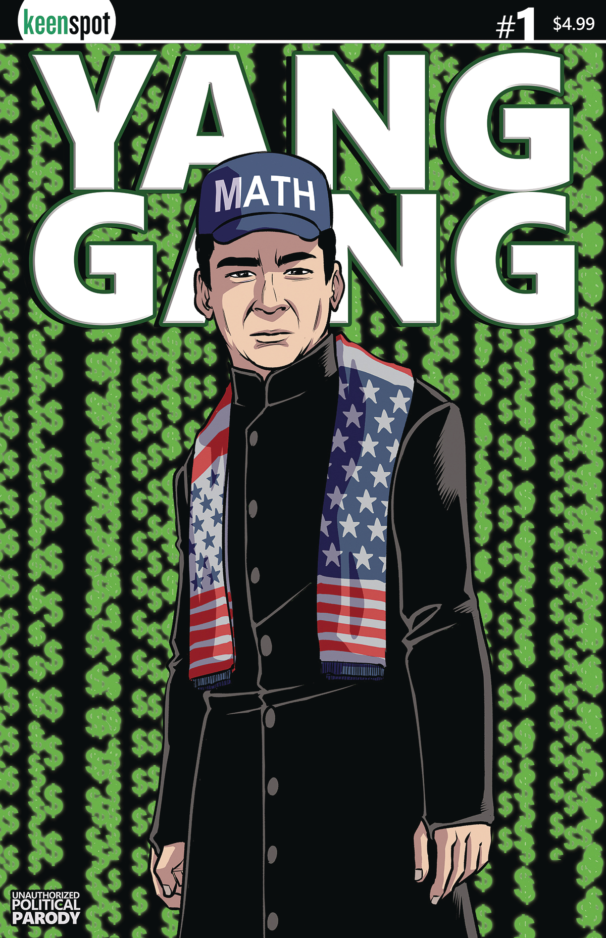 DEC191764 - YANG GANG #1 CVR C MATHTRIX - Previews World
