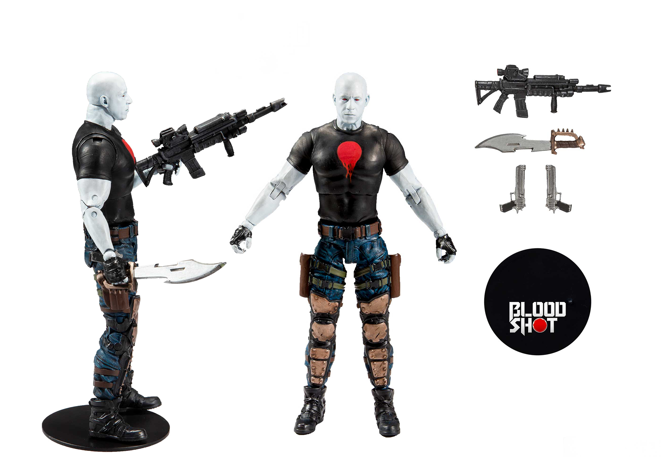 BLOODSHOT MOVIE 7IN SCALE BLOODSHOT AF CS