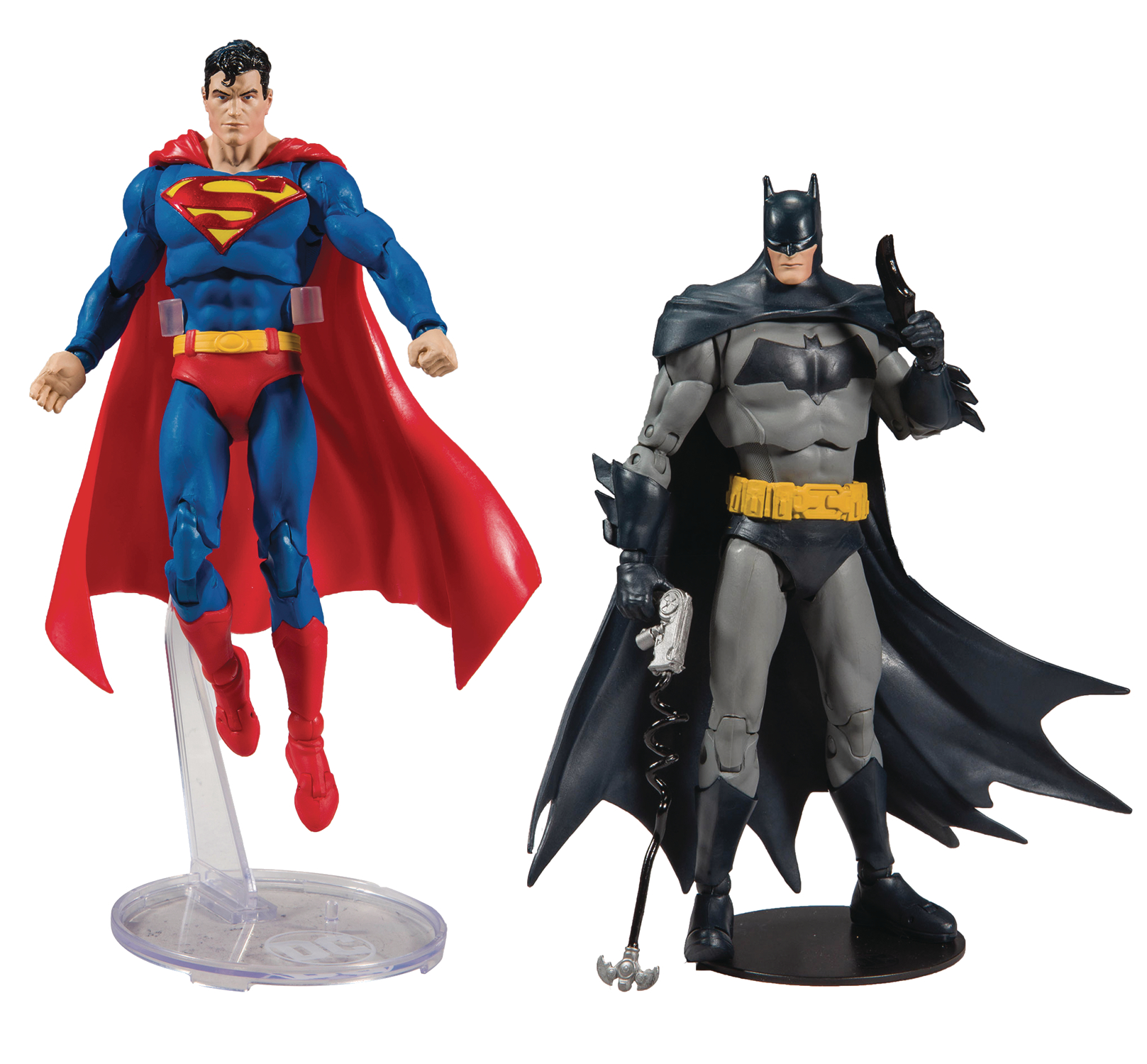 DC BATMAN/SUPERMAN 7IN SCALE WV1 AF ASST