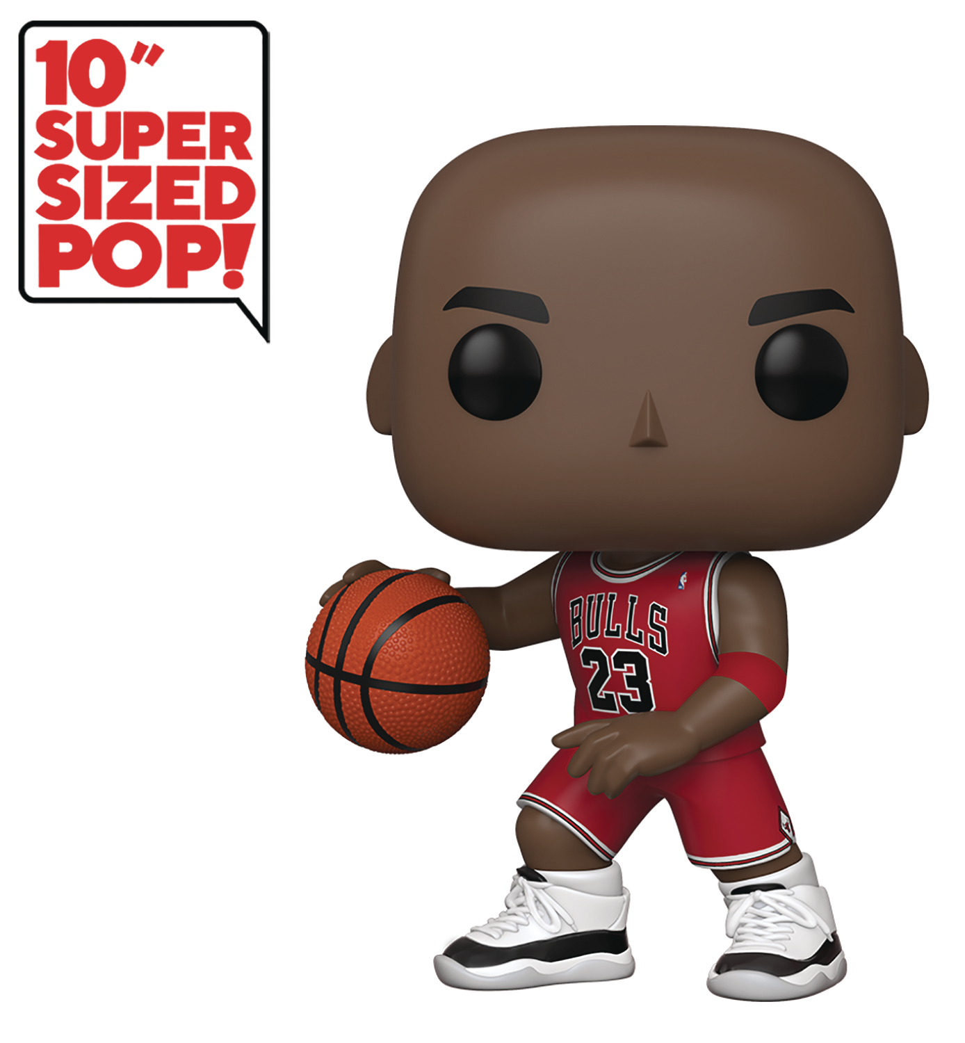 POP NBA BULLS MICHAEL JORDAN (RED JERSEY) 10IN FIG
