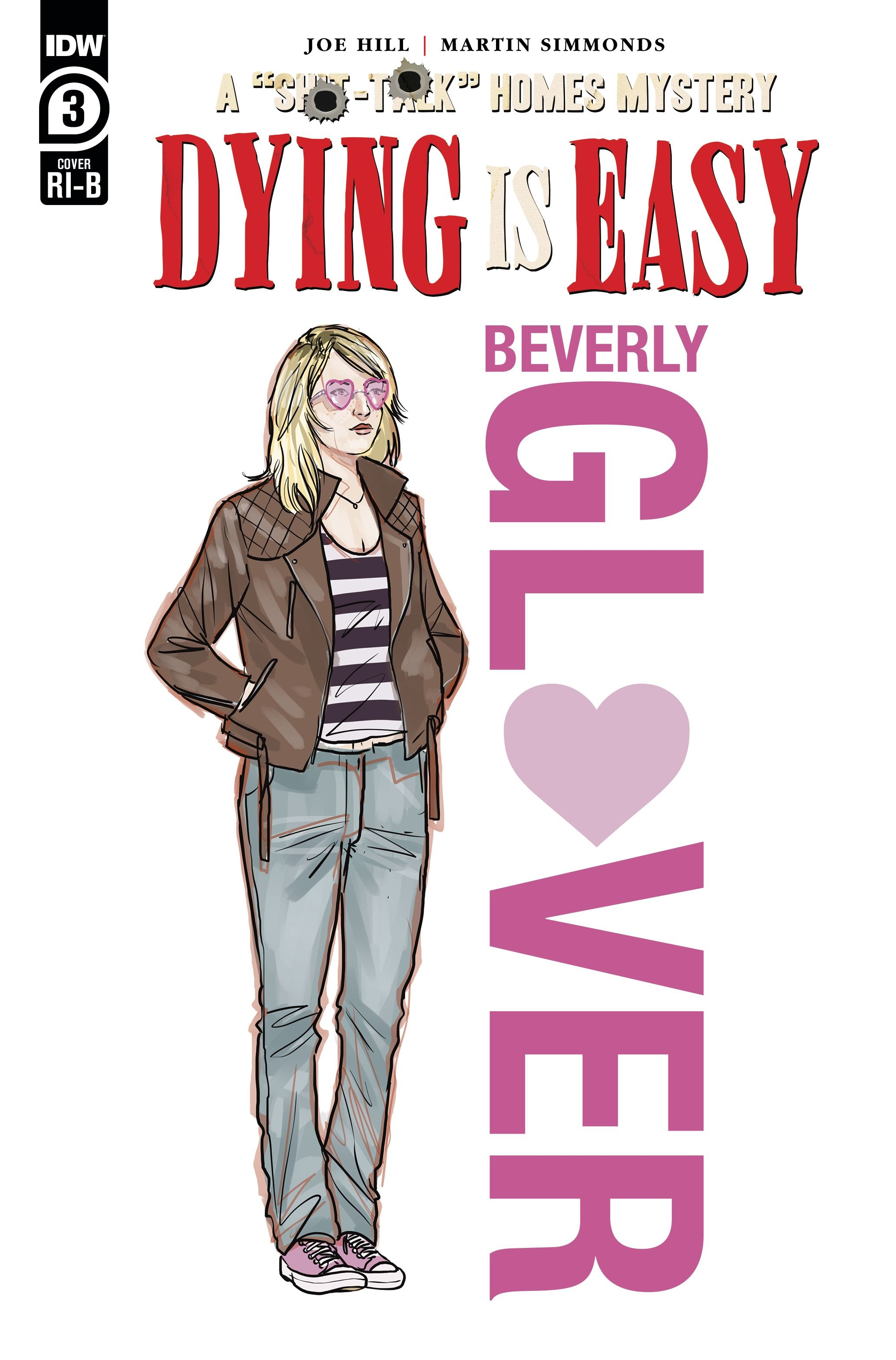 DYING IS EASY #3 (OF 5) 25 COPY INCV CHARACTER WRAP SIMMONDS