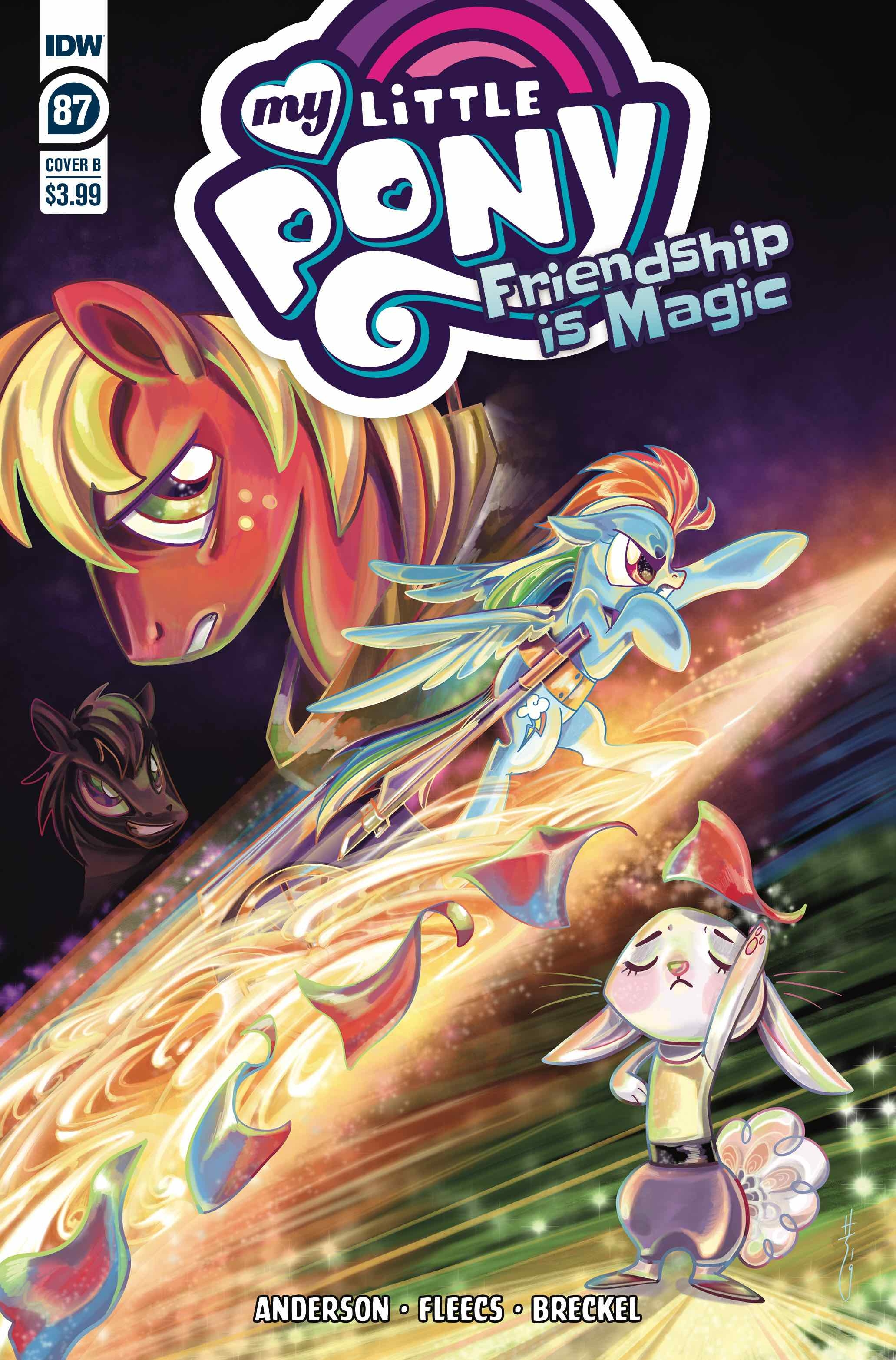 MY LITTLE PONY FRIENDSHIP IS MAGIC #87 CVR B RICHARD