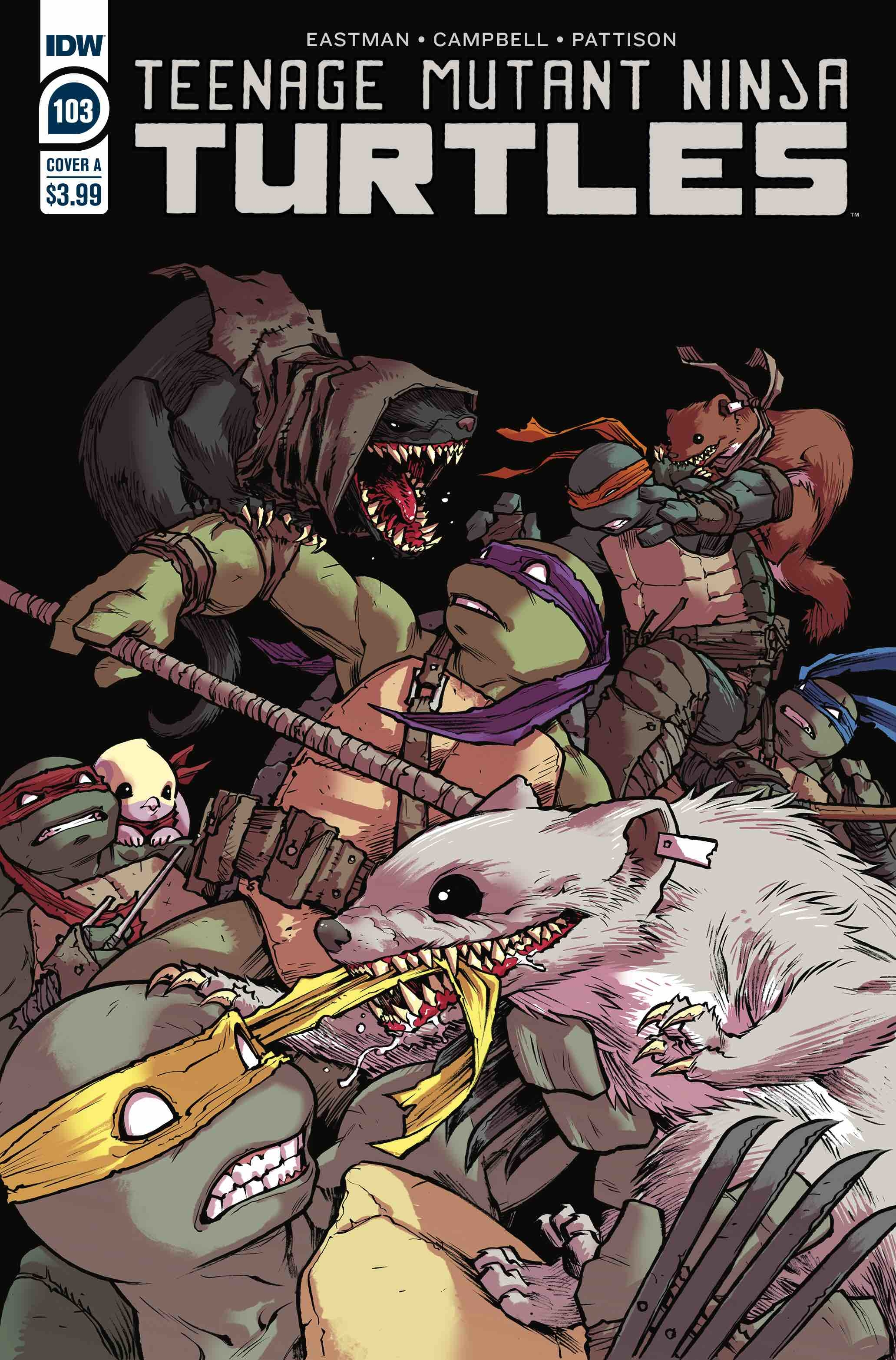 TMNT ONGOING #103 CVR A CAMPBELL