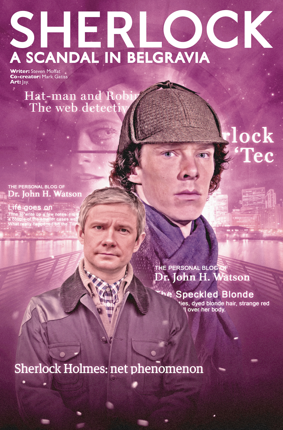 SHERLOCK SCANDAL IN BELGRAVIA #3 CVR B PHOTO