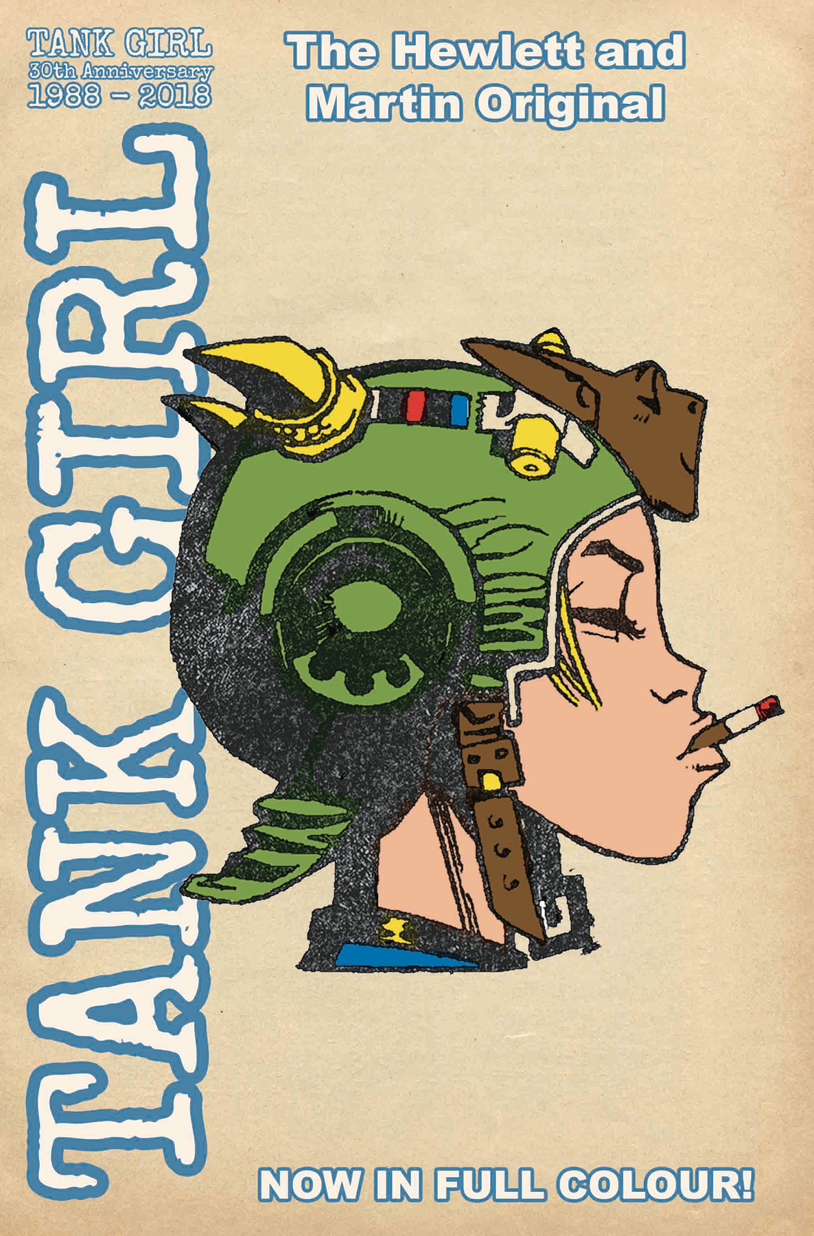 TANK GIRL FULL COLOR CLASSICS 1994-1995 CVR C HEWLETT (MR)