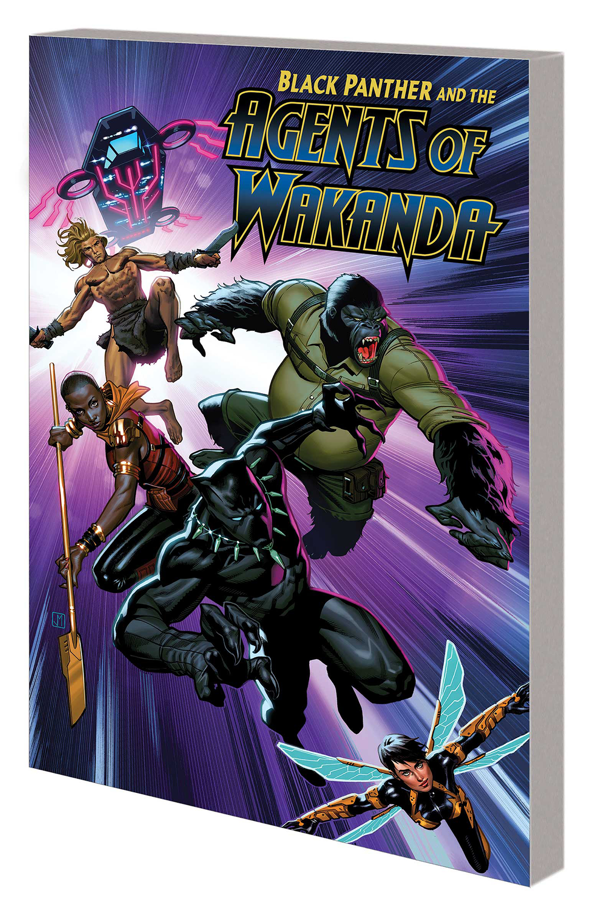 BLACK PANTHER AGENTS OF WAKANDA TP VOL 01 EYE OF THE STORM