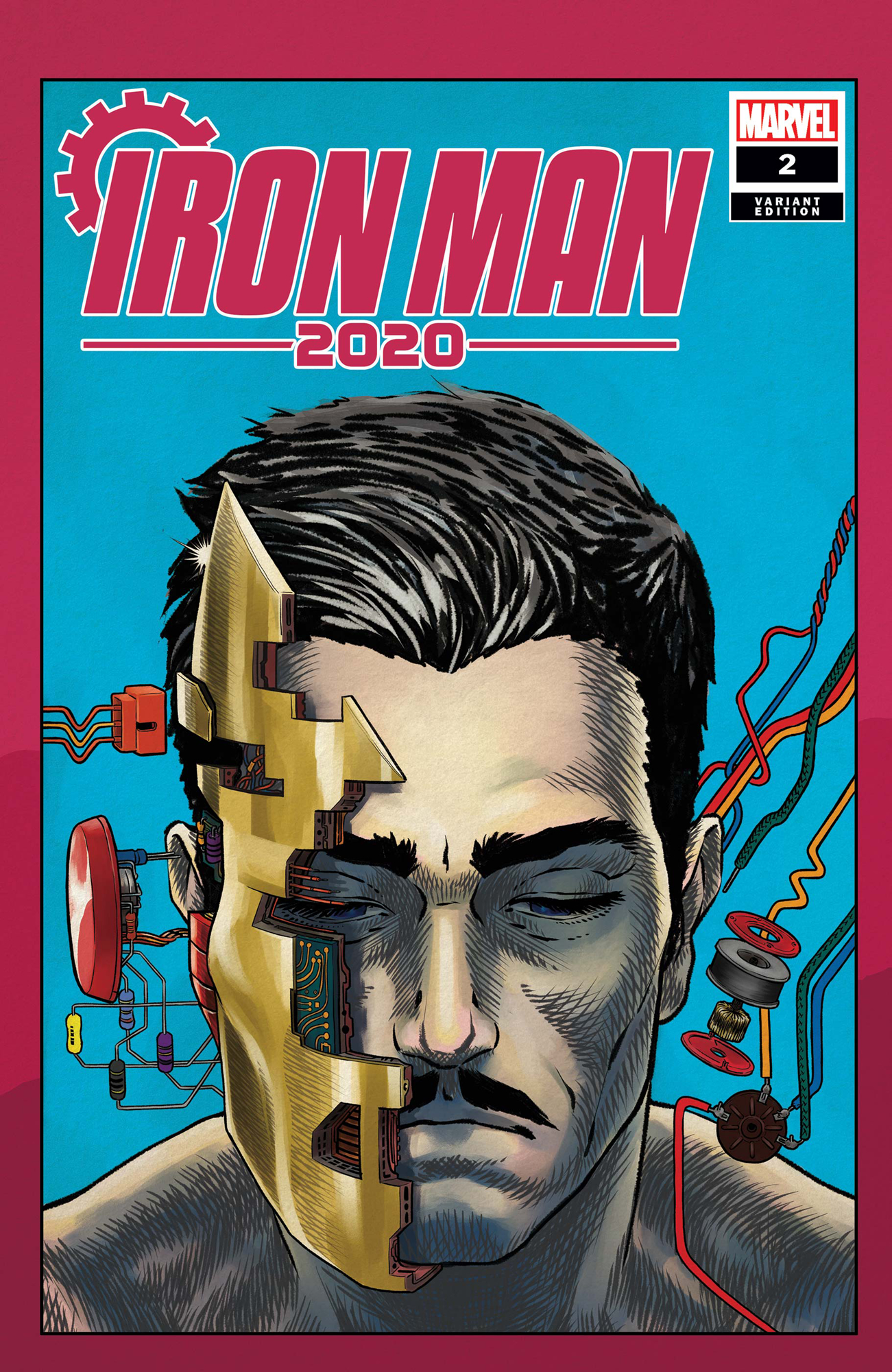 Free Comic Book Day 2020 List.Dec190818 Iron Man 2020 2 Of 6 Superlog Heads Var