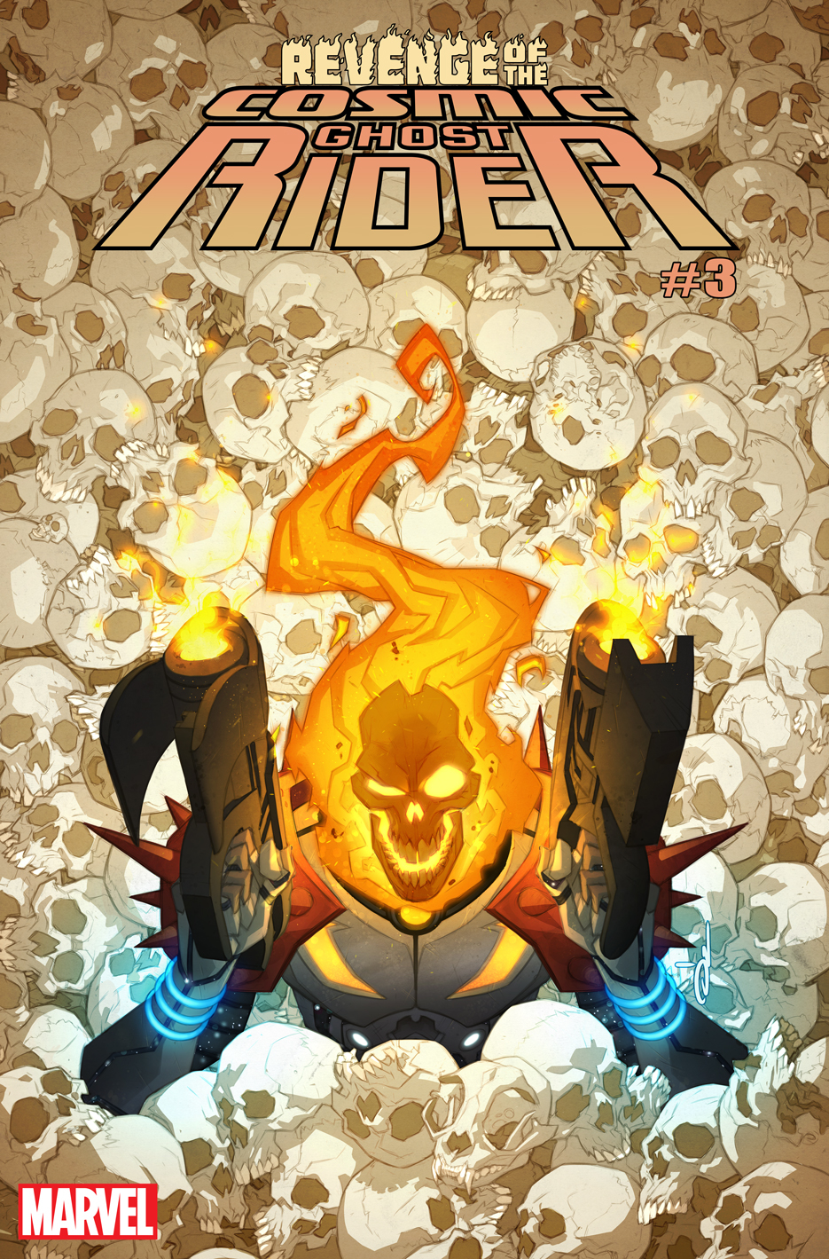 REVENGE OF COSMIC GHOST RIDER #3 (OF 5) YILDRUM VAR
