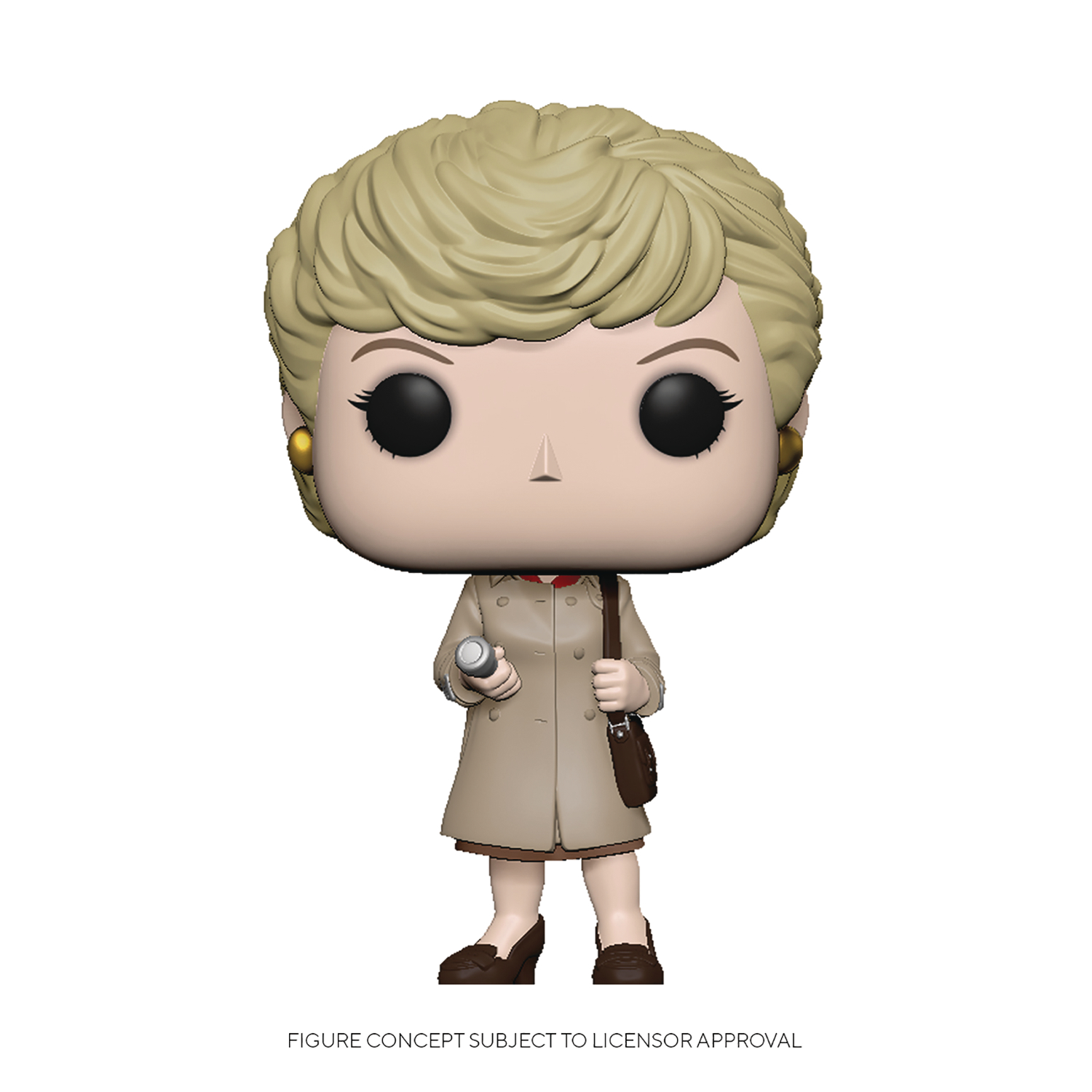 POP TV MURDER SHE WROTE JESSICA TRENCHCOAT/FLASHLIGHT FIG (C