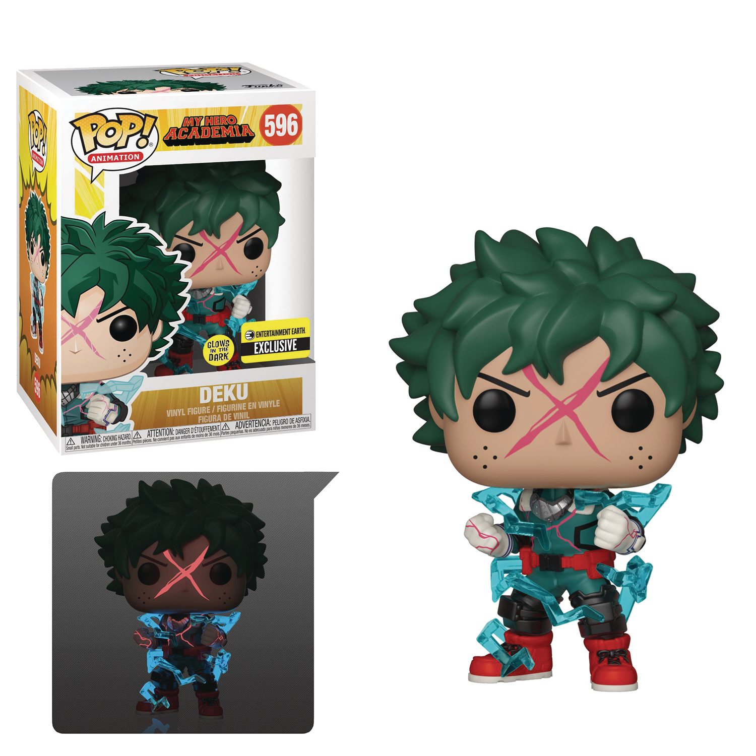 MY HERO ACADEMIA DEKU EE EXCLUSIVE GLOW IN THE DARK POP (NET