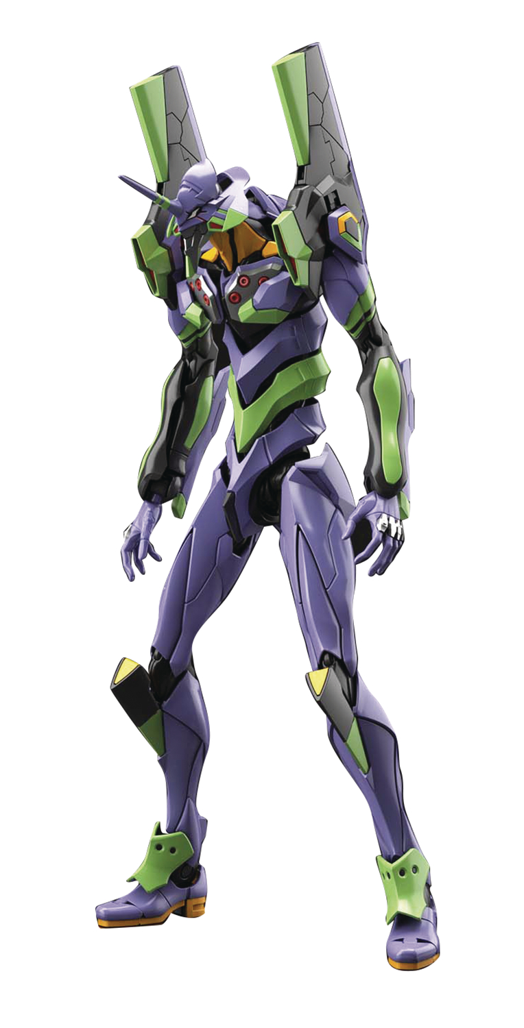 REAL GRADE EVANGELION UNIT-01 W/PLATFORM DX RG MDL KIT SET (
