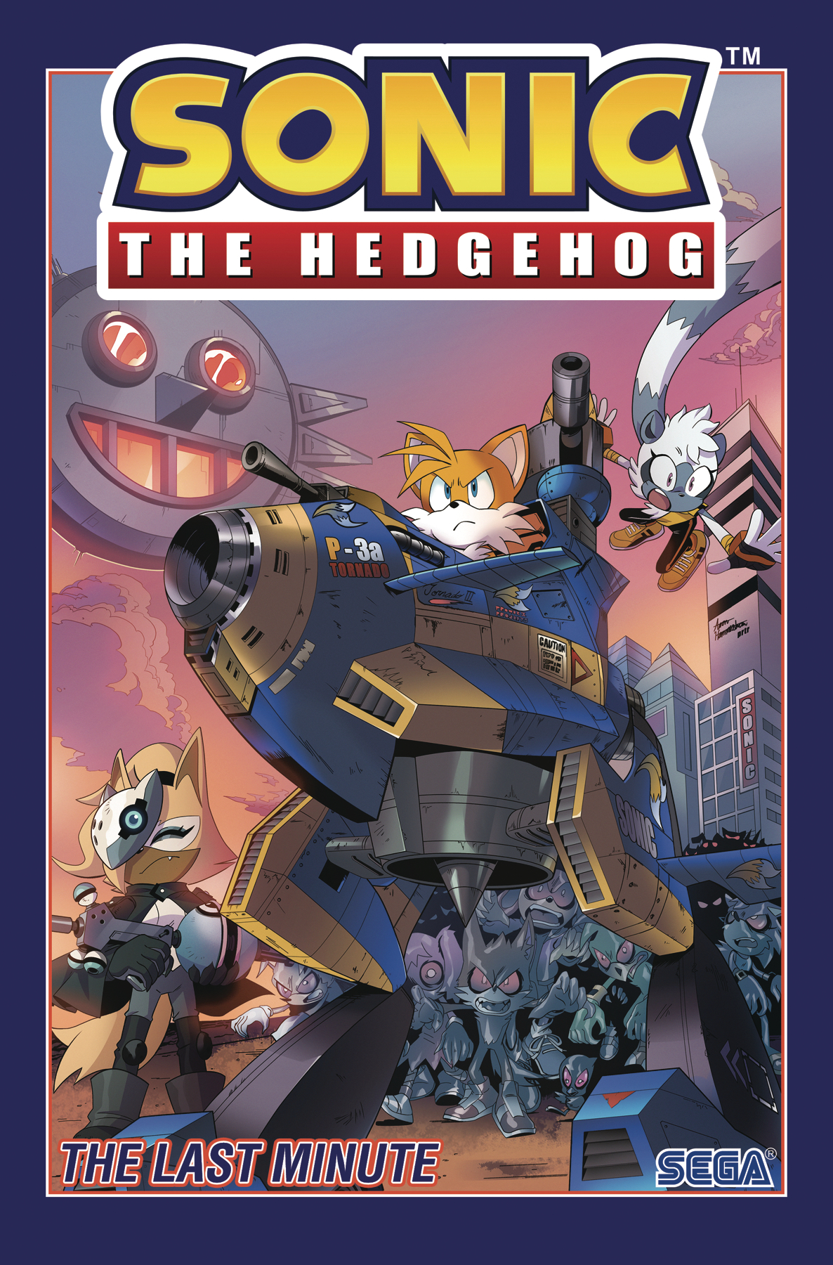 SONIC THE HEDGEHOG TP VOL 06 LAST MINUTE