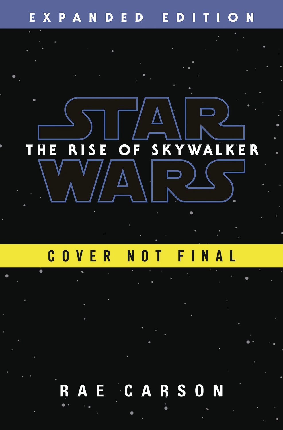 STAR WARS RISE OF SKYWALKER EXPANDED ED HC