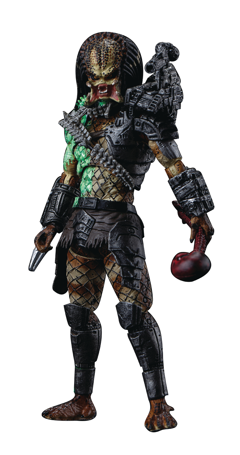 PREDATOR BATTLE DAMAGE JUNGLE PREDATOR PX 1/18 SCALE FIG