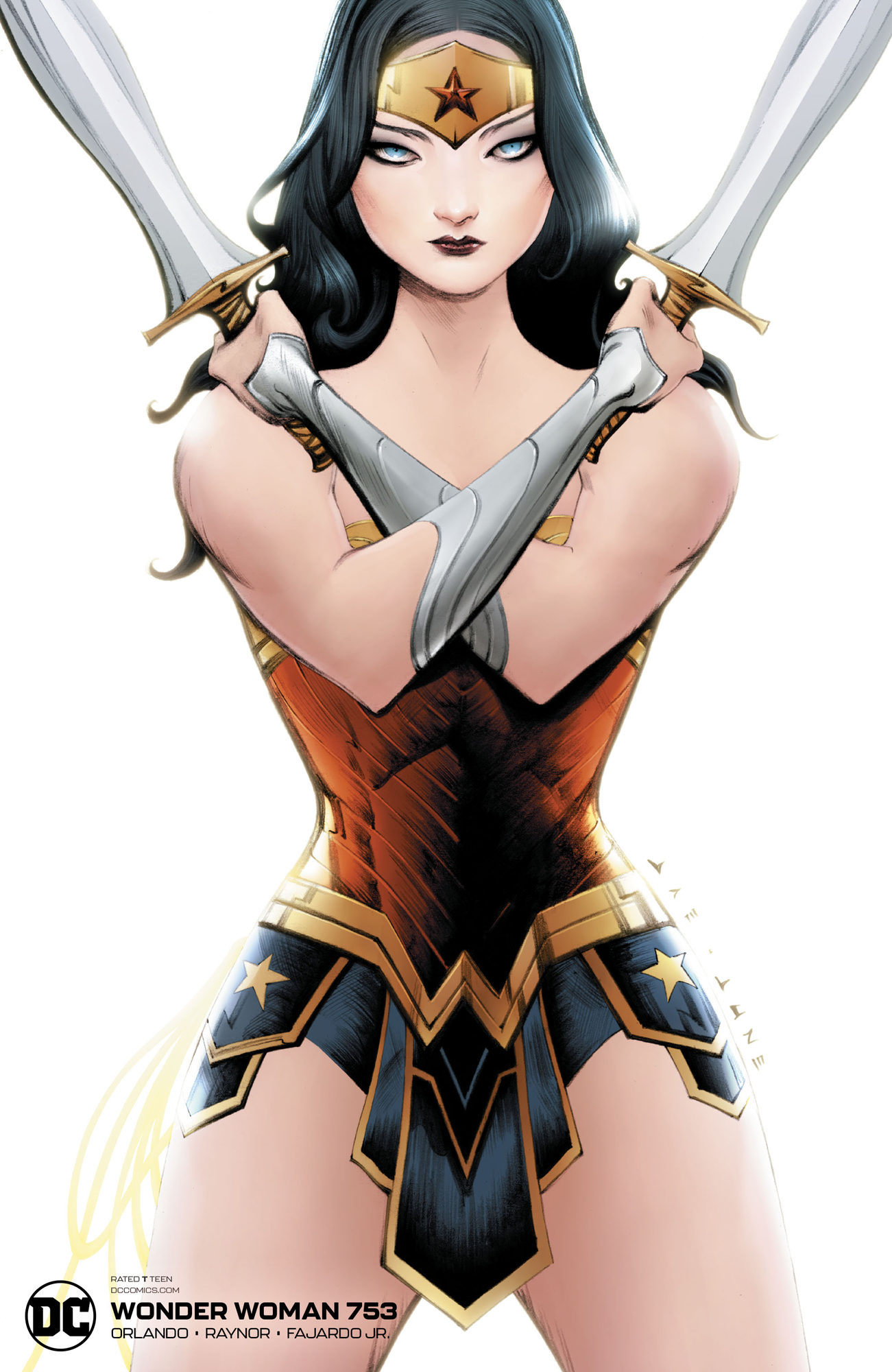 WONDER WOMAN #753 JAE LEE VAR ED
