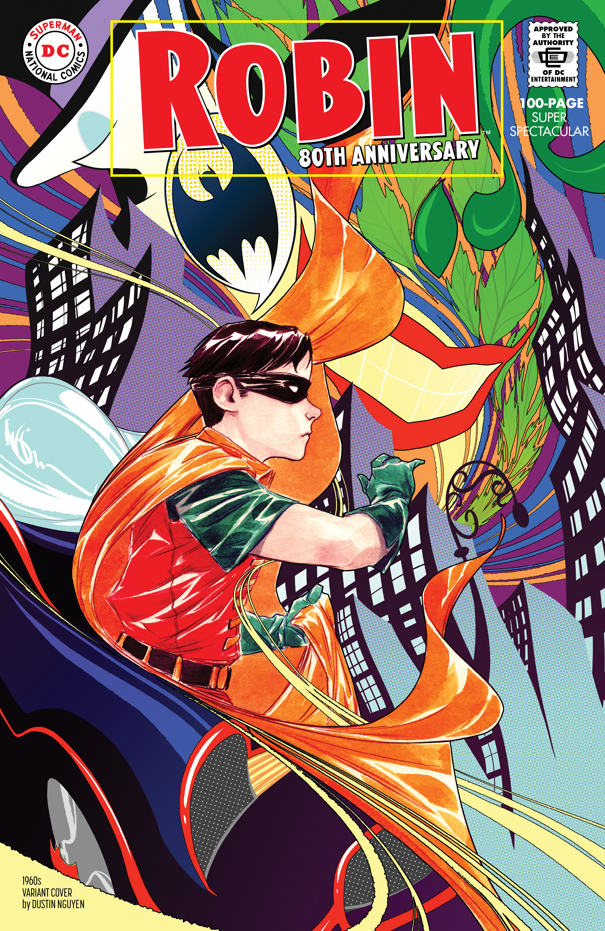 ROBIN 80TH ANNIV 100 PAGE SUPER SPECT #1 1960S DUSTIN NGUYEN