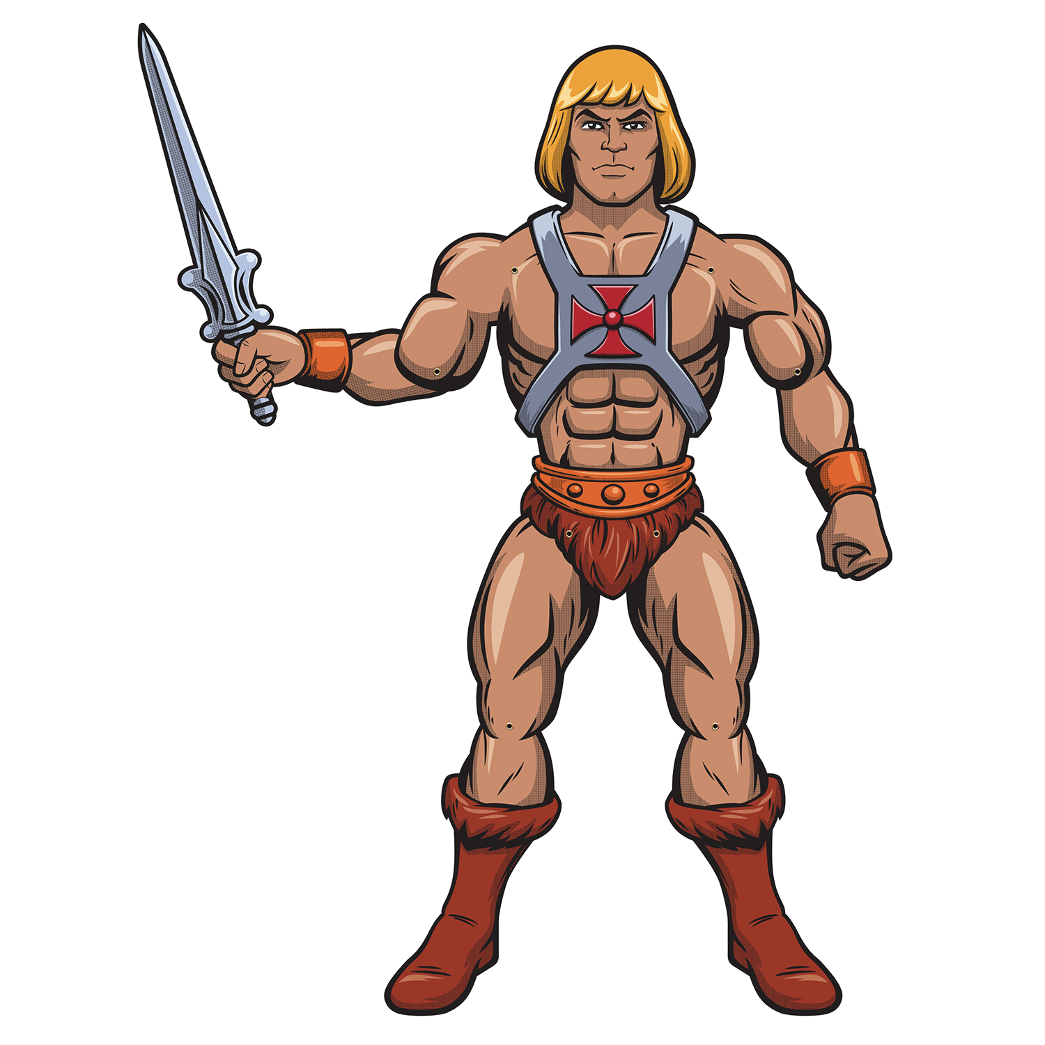 PAPER PEOPLE MOTU HE-MAN 50IN JOINTED PAPER CHARACTER