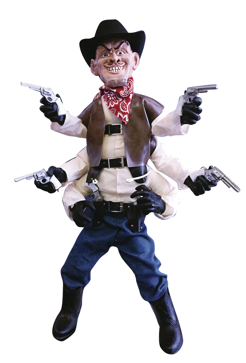 PUPPET MASTER ORIGINALS 1/1 SCALE SIX SHOOTER REPLICA