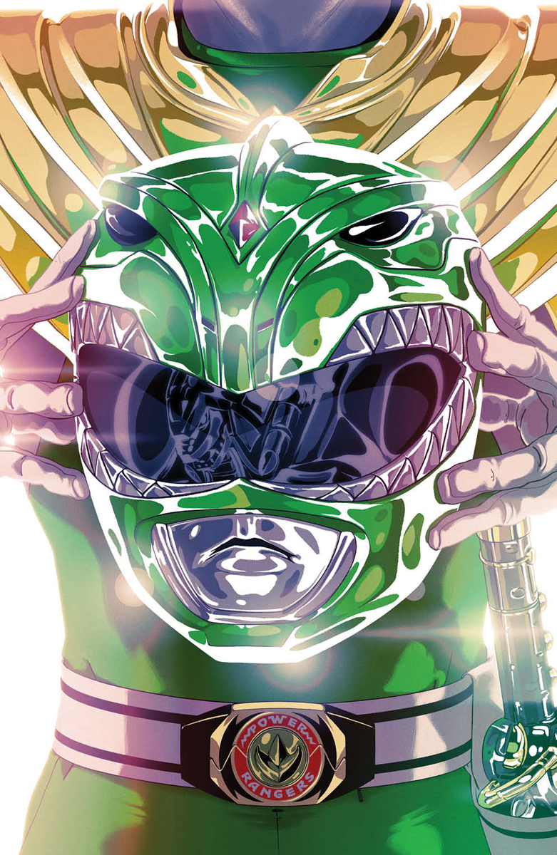 MIGHTY MORPHIN POWER RANGERS #49 FOIL MONTES VAR