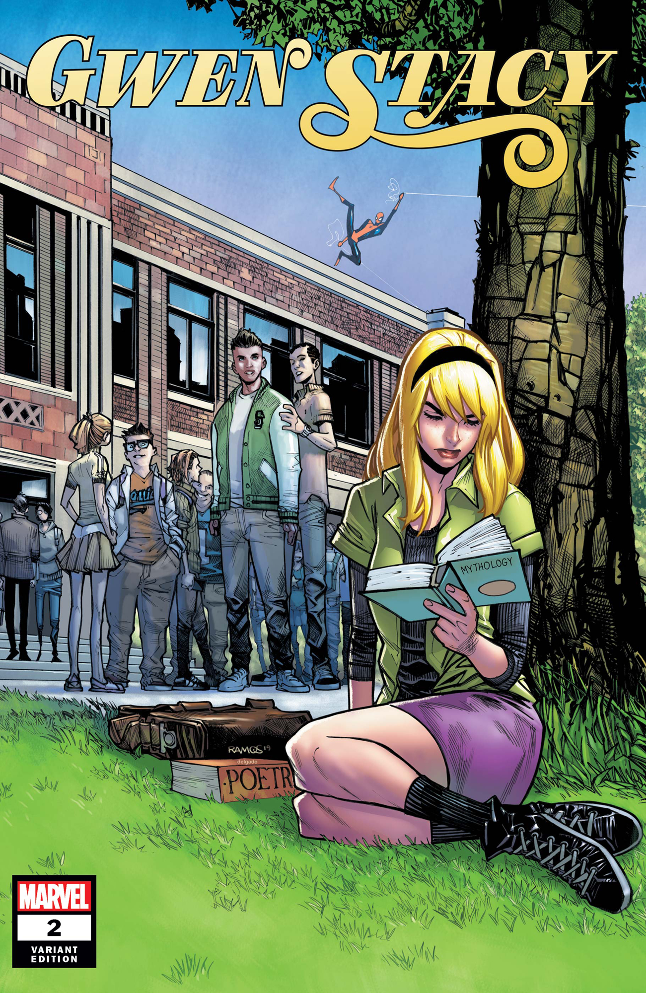 GWEN STACY #2 (OF 5) RAMOS VAR