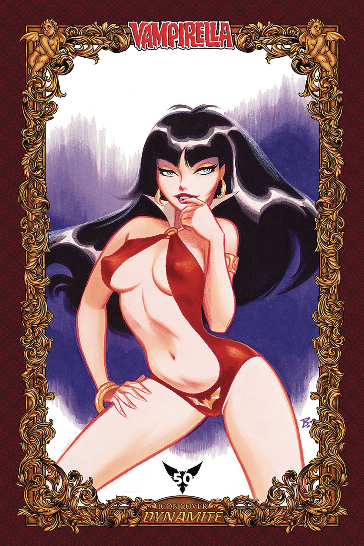 VAMPIRELLA #9 75 COPY TIMM ICON INCV