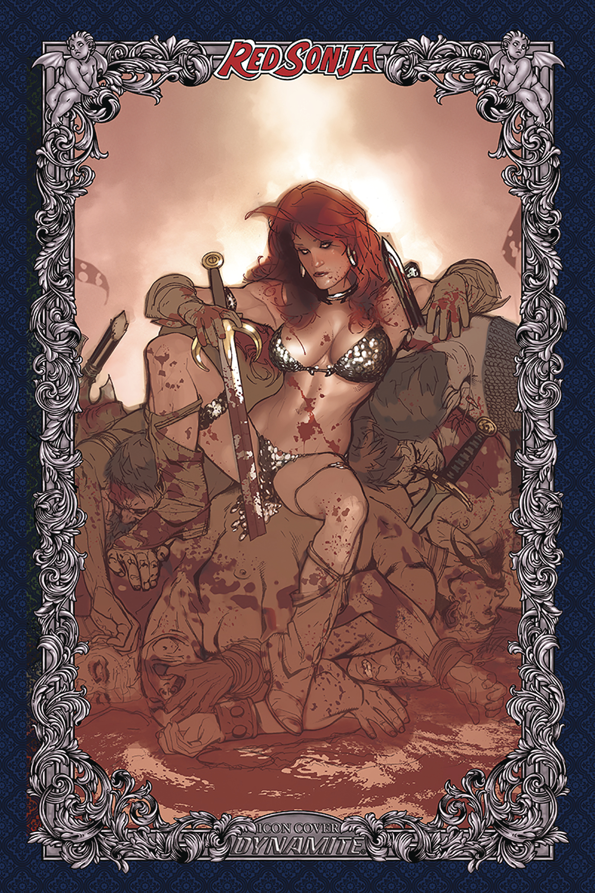 RED SONJA AGE OF CHAOS #3 60 COPY HUGHES ICON INCV