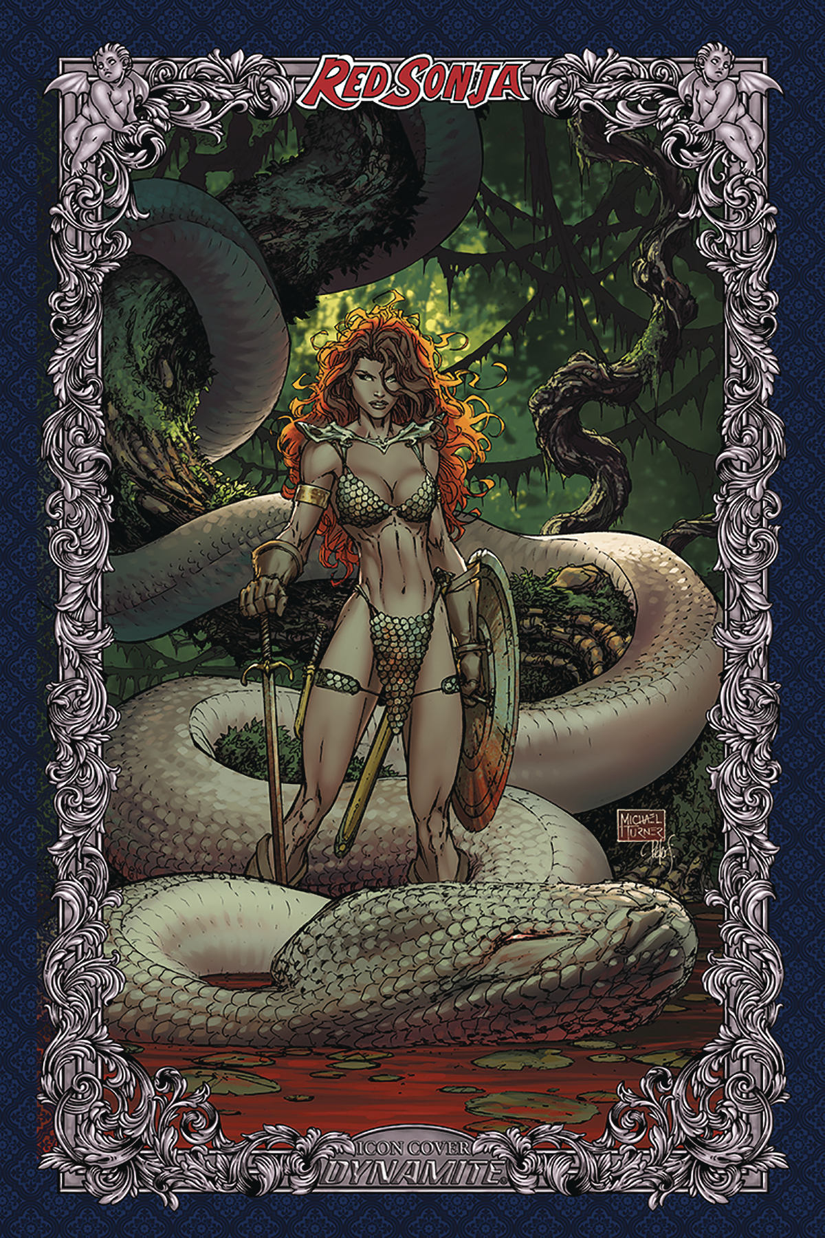 RED SONJA AGE OF CHAOS #3 75 COPY TURNER ICON INCV
