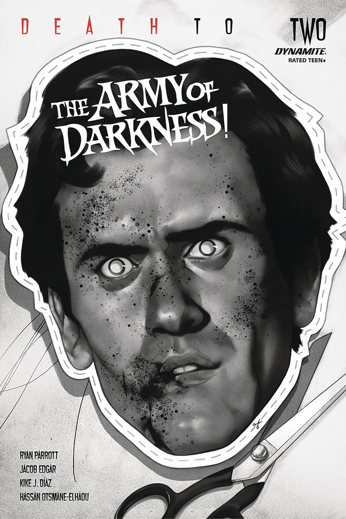 DEATH TO ARMY OF DARKNESS #2 50 COPY OLIVER B&W INCV