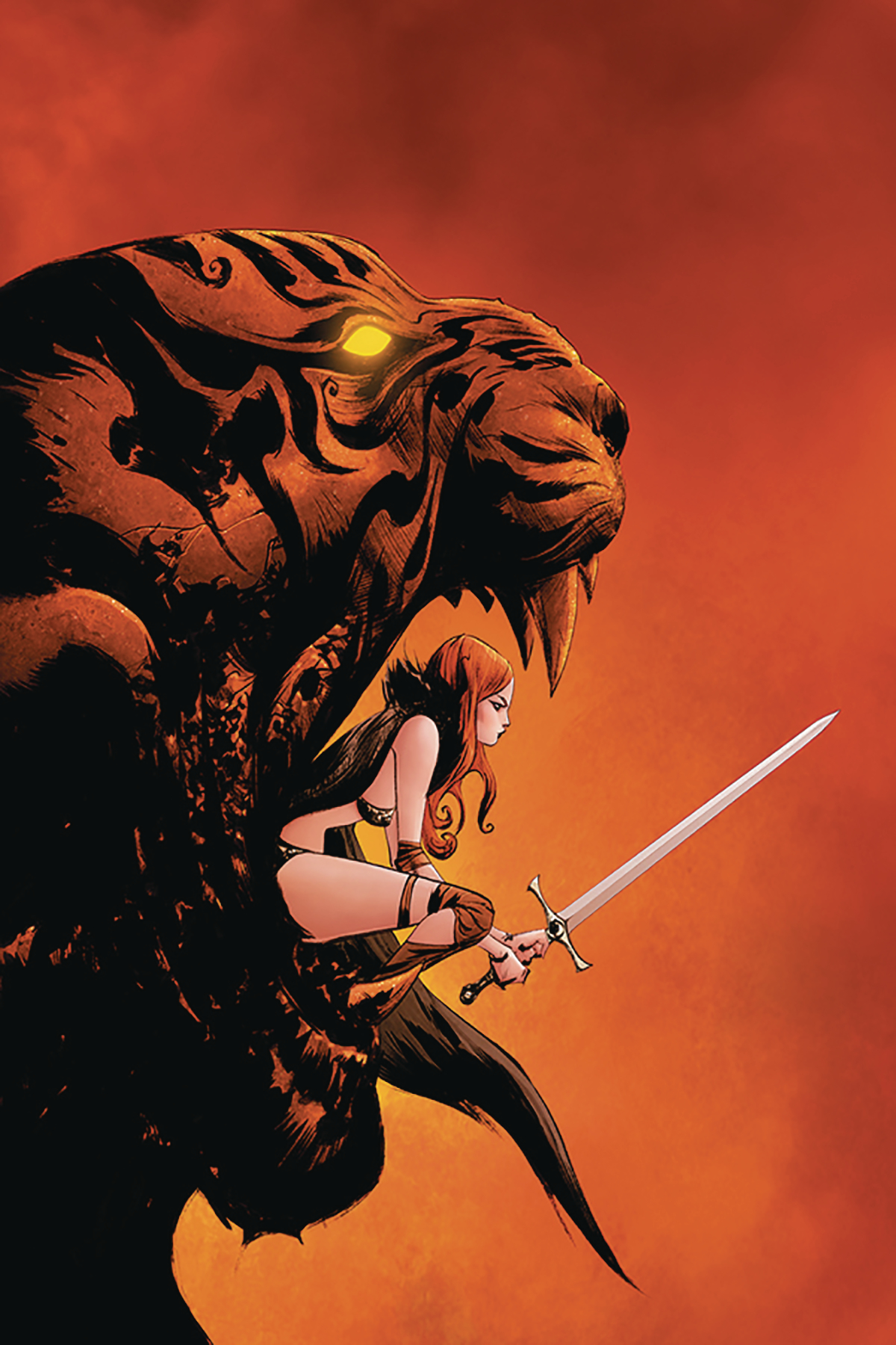 RED SONJA #14 LEE LTD VIRGIN CVR