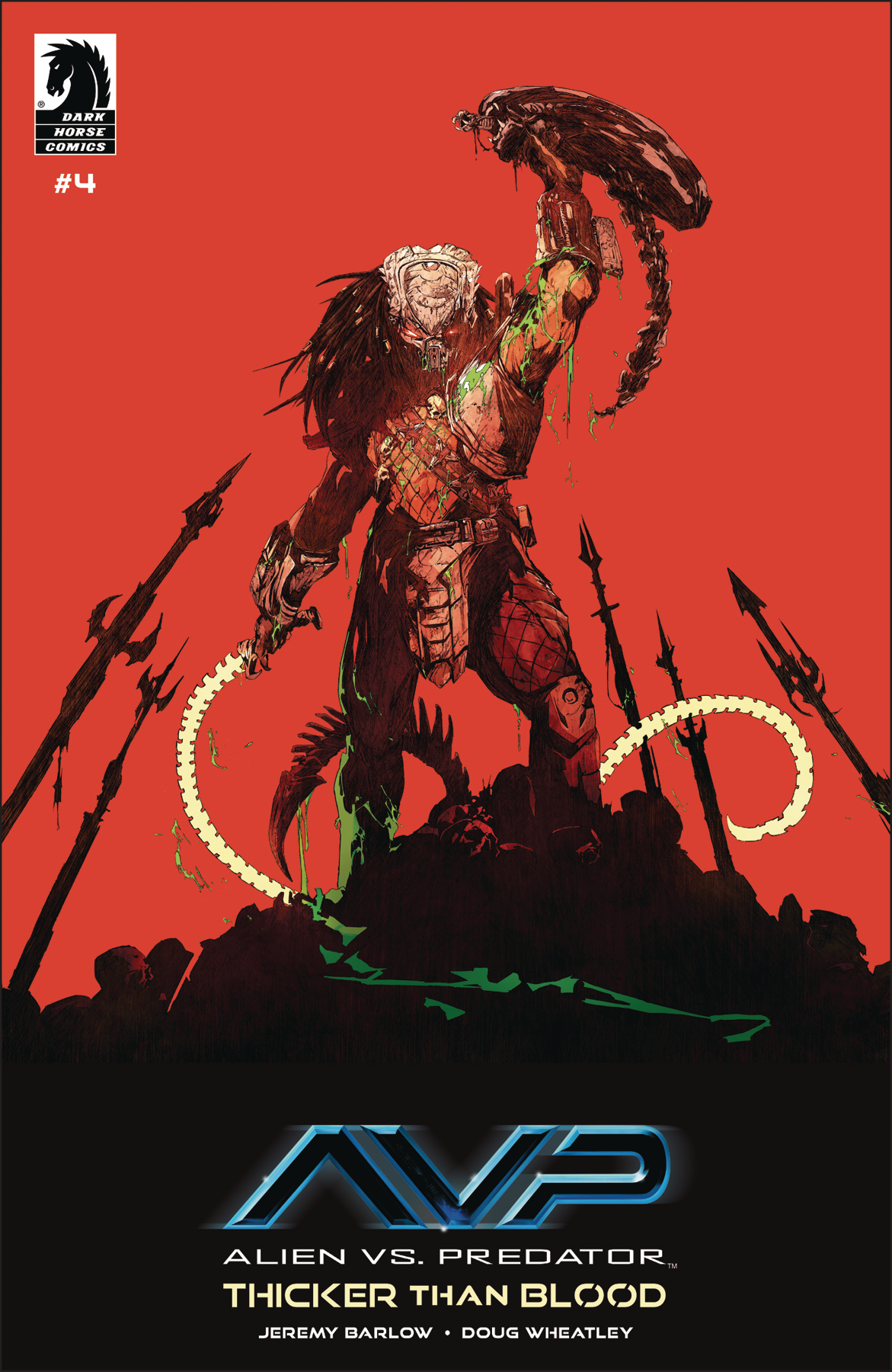 ALIENS VS PREDATOR THICKER THAN BLOOD #4 (OF 4)