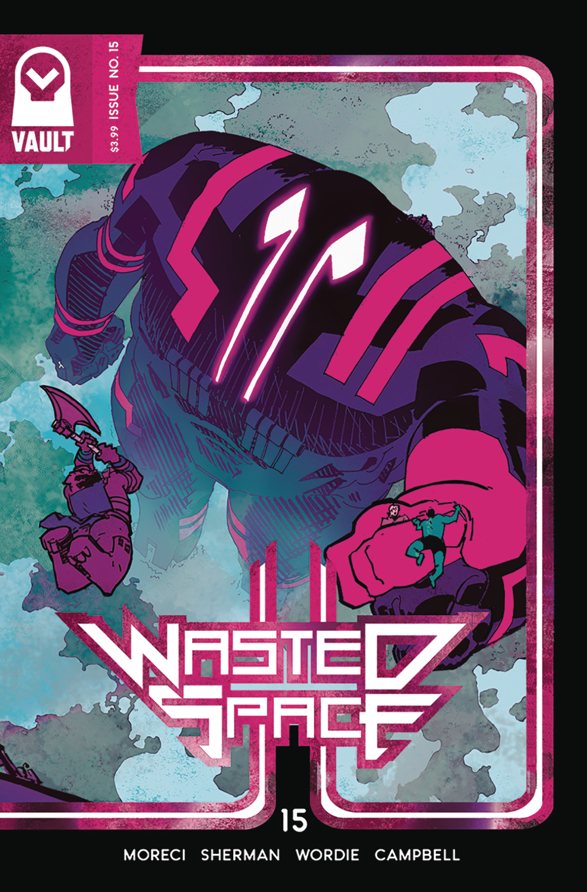 WASTED SPACE #15 (MR)