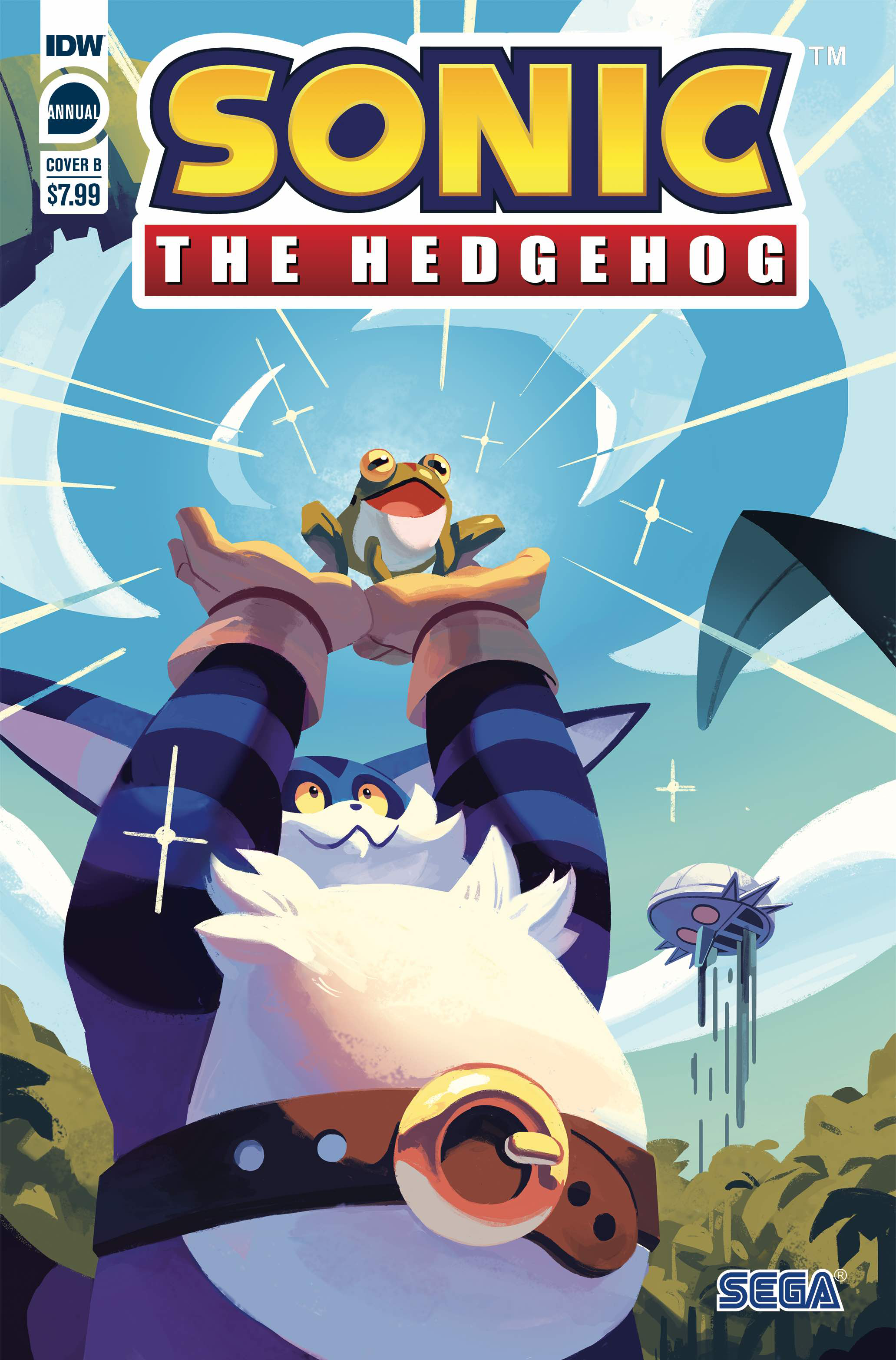 SONIC THE HEDGEHOG ANNUAL 2020 CVR B FOURDRAINE