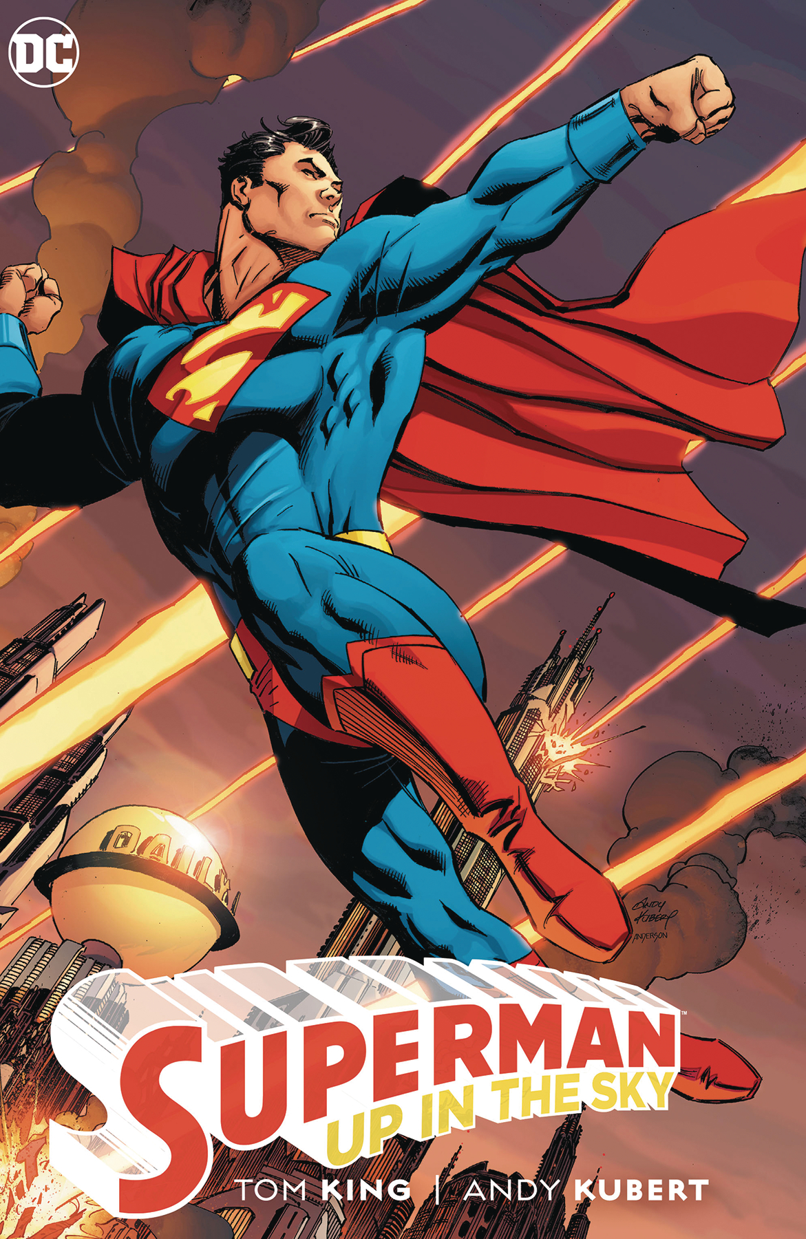 SUPERMAN UP IN THE SKY HC
