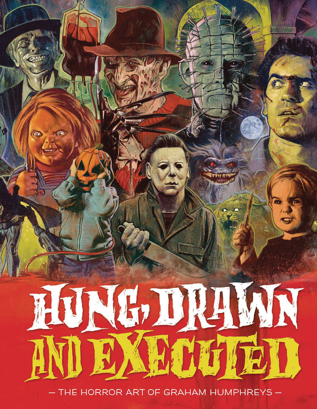 HUNG DRAWN & EXECUTED HORROR ART OF GRAHAM HUMPHREYS (MR) (C